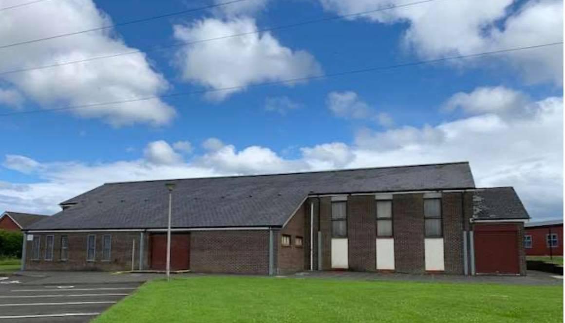 UNCERTAIN FUTURE: St MacNissi's Church in Newtownabbey