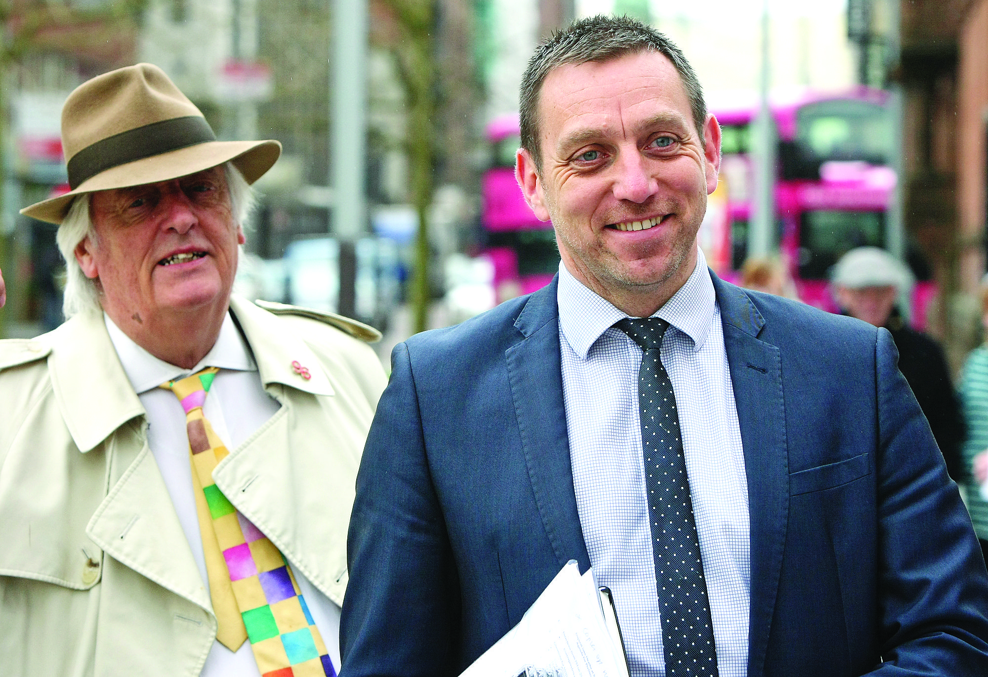 PARTNERSHIP: Michael Mansfield QC and solicitor Pádraig Ó Muirigh will be back together again representing citizens concerned at the British government's Internal Markets Bill