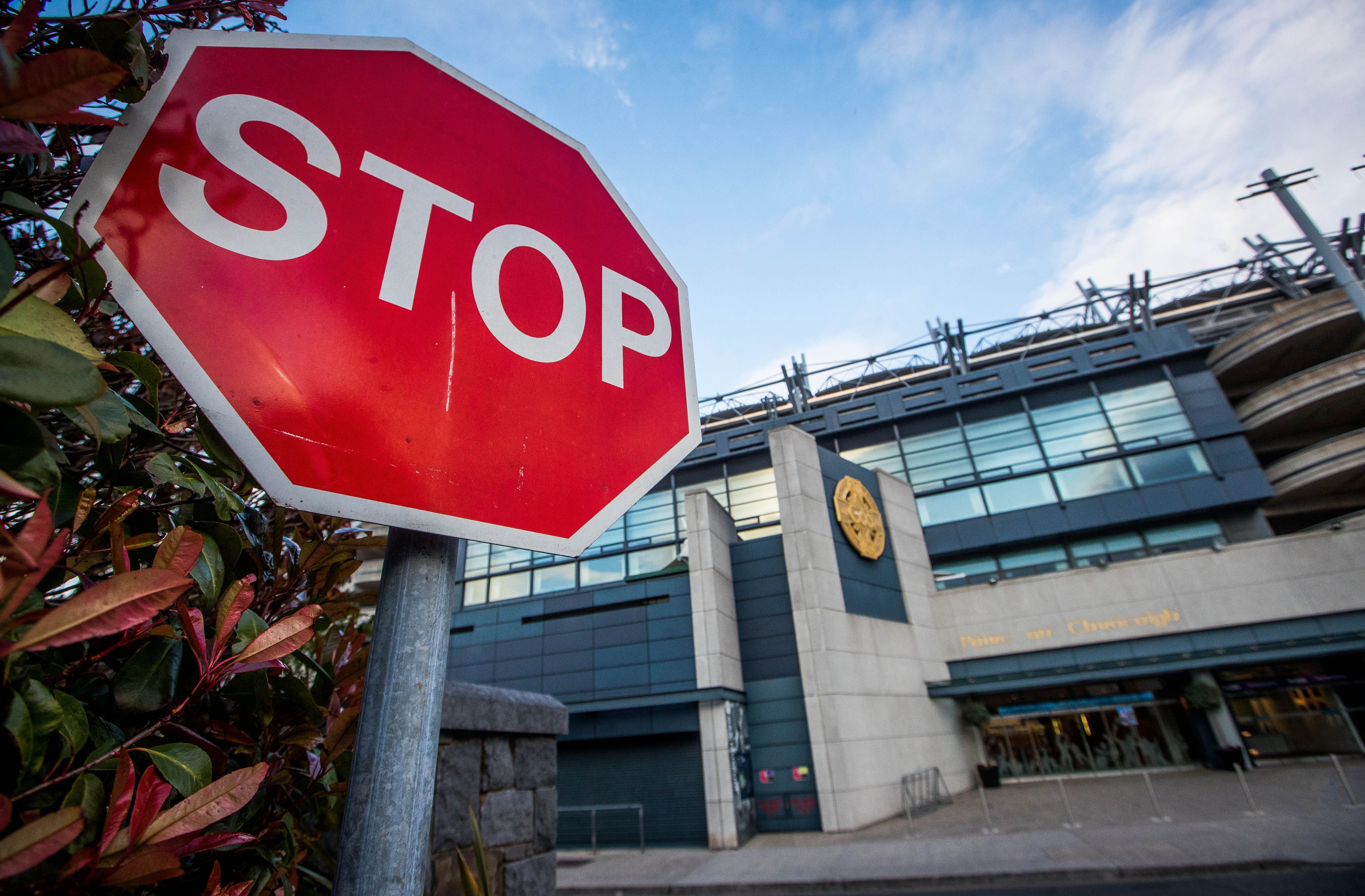 The decision to call an immediate halt came at Croke Park on Monday with public health cited as the reason