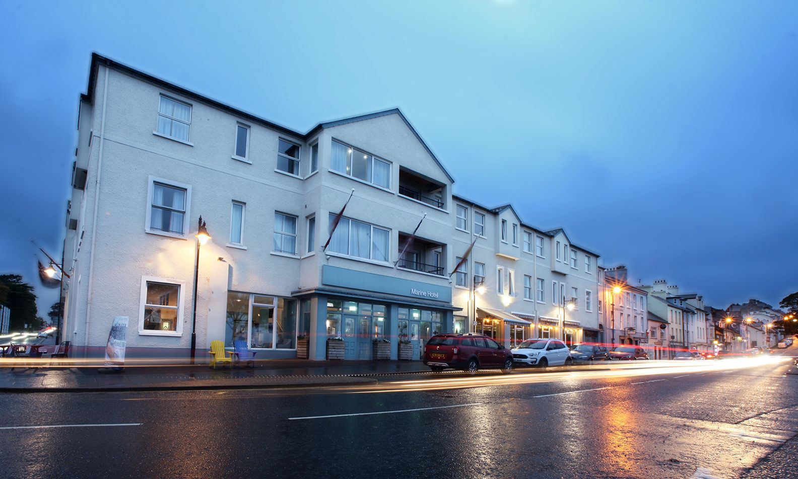 WARM WELCOME: The beachfront Marine Hotel in Ballycastle