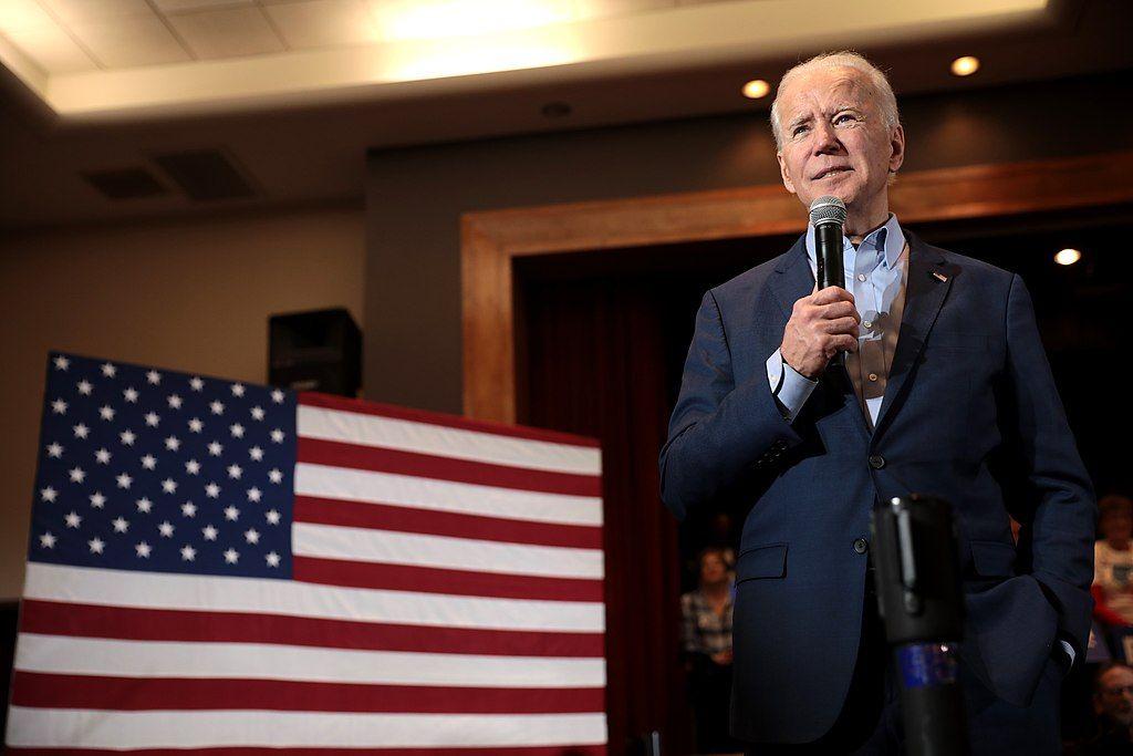 FIERCE OPPONENT OF THATCHER-REAGAN EXTRADITION PLOY: US Presidential candidate Joe Biden