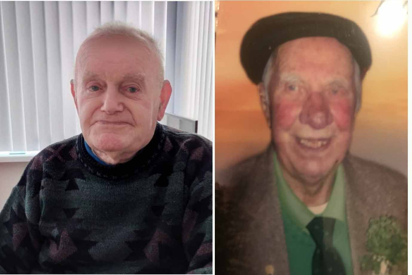 CHARACTERS: Wee Pete McKernon and Paddy Duffy have passed away within 15 months of each other