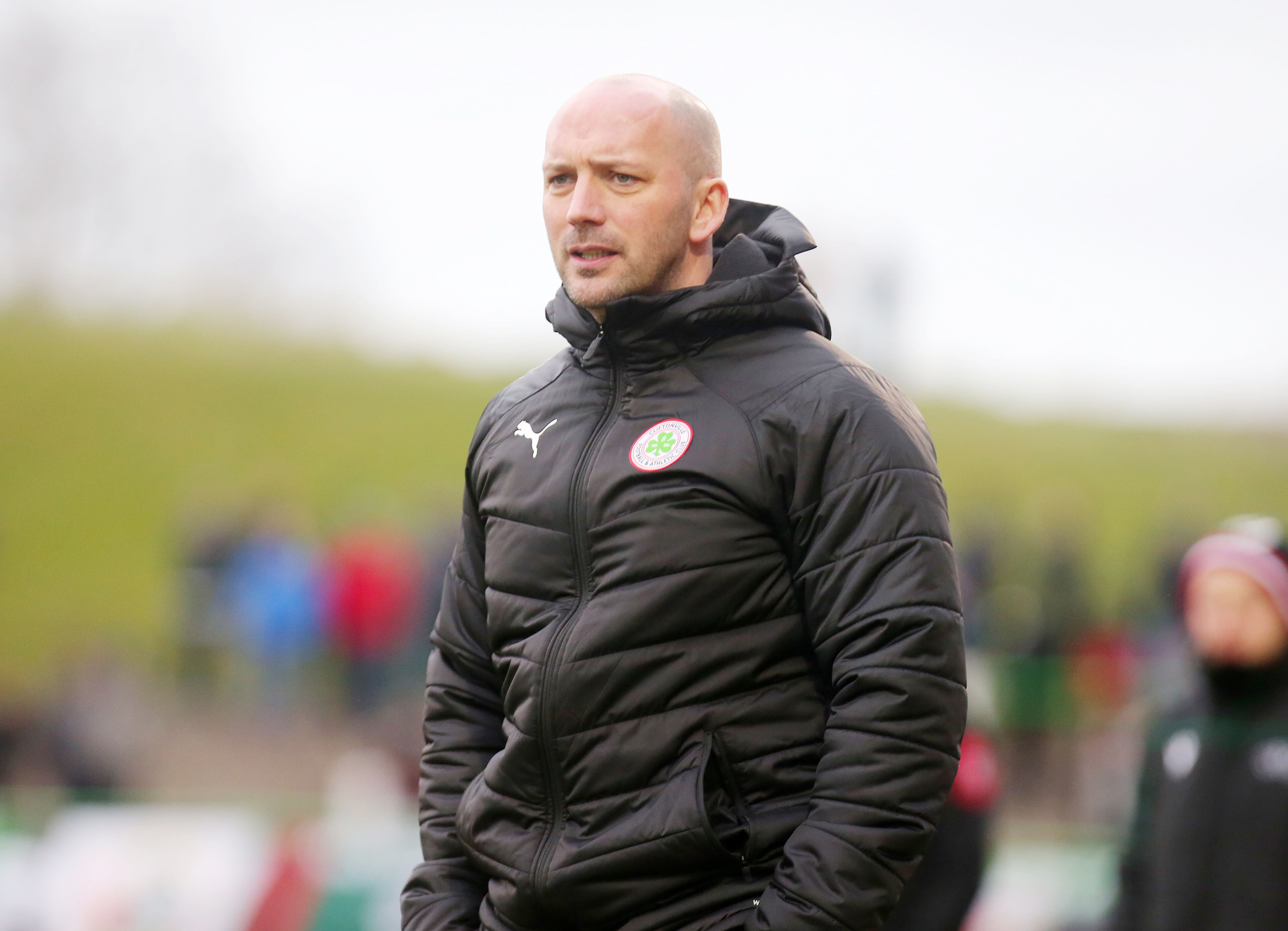 Cliftonville manager Paddy McLaughlin is hopeful that a greater number of fans can attend games in the near future