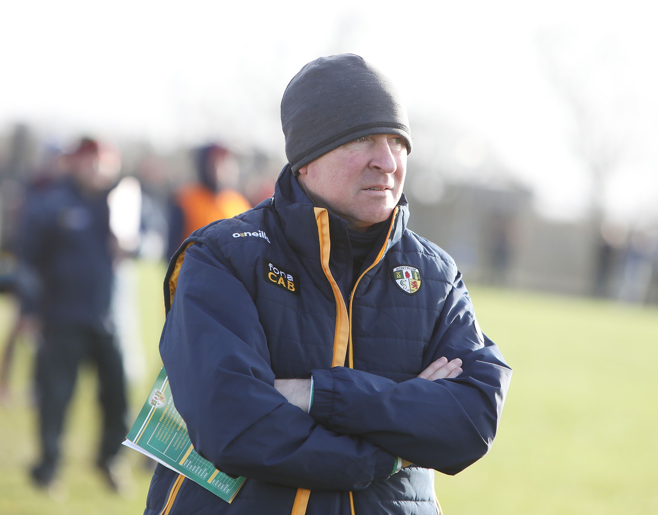 Antrim football manager Lenny Harbinson says the return of Kevin O'Boyle, Mark Sweeney, Ryan Murray and Paddy McCormick will add extra experience ahead of next week's crunch trip to Wicklow in Division Four of the National League