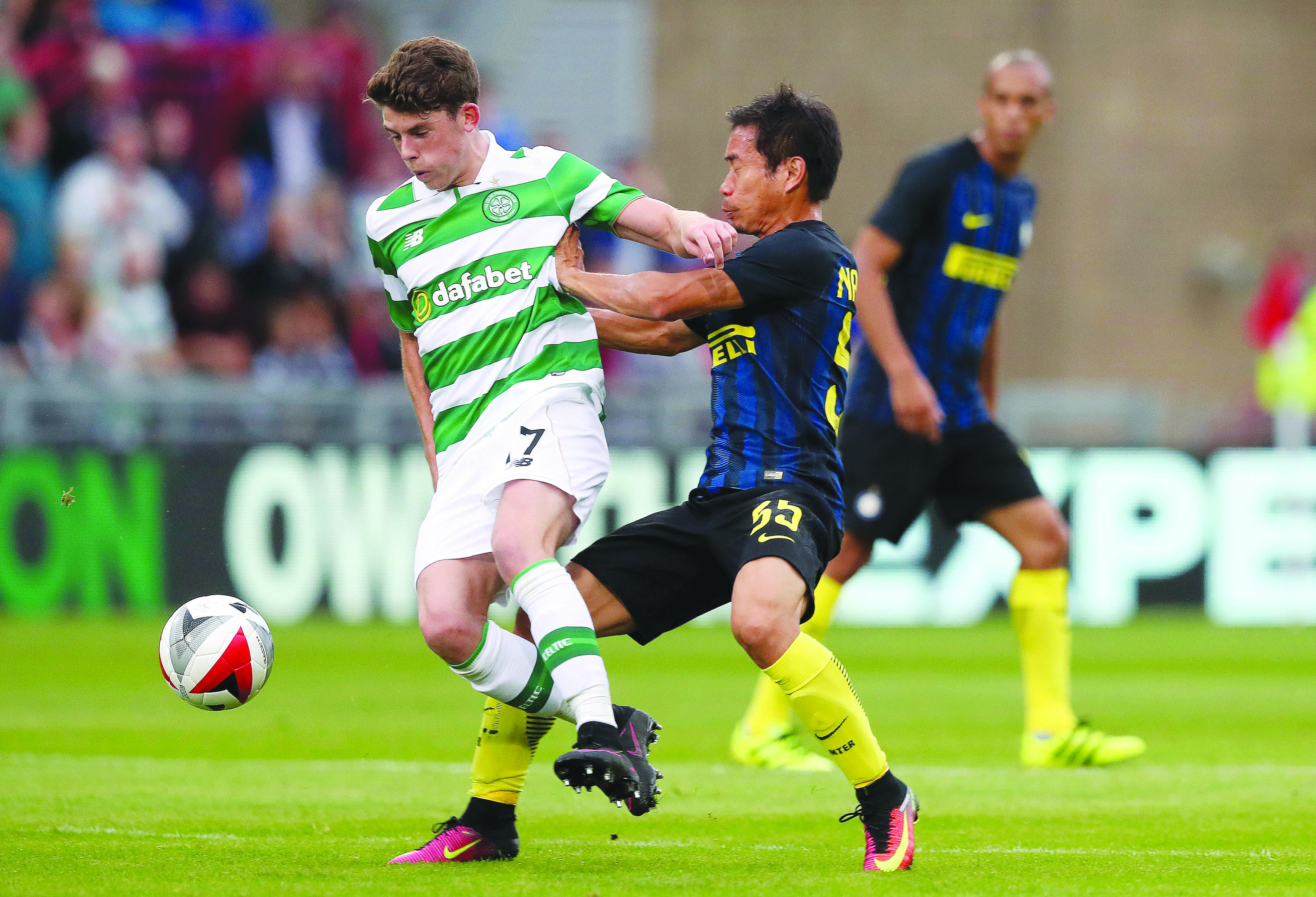 Ryan Christie is one of several Celtic players who could miss Saturday's derby due to Covid-19