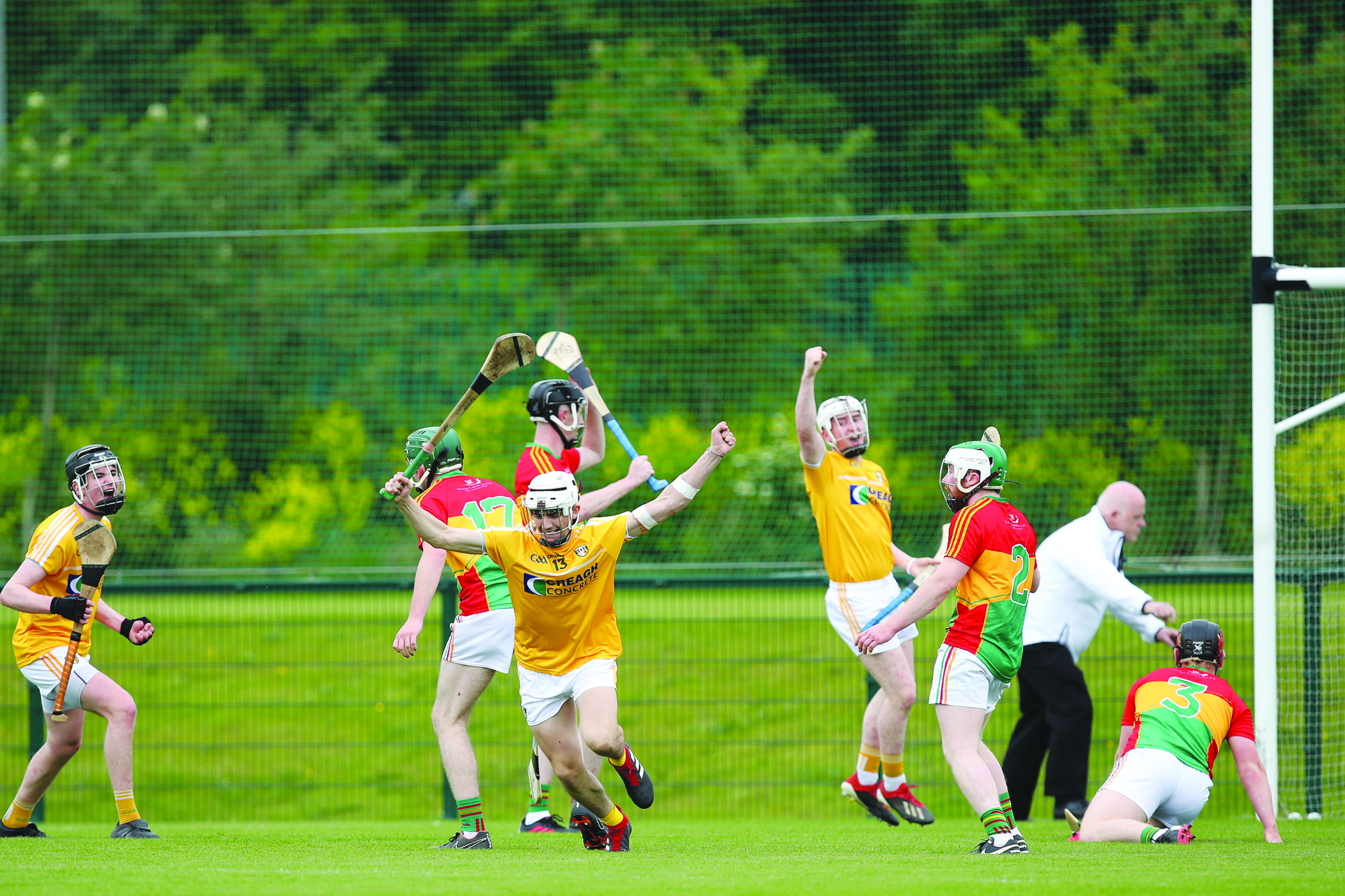 Despite playing well, Antrim ultimately lost out to Carlow in last year's Leinster U20 Championship after extra-time