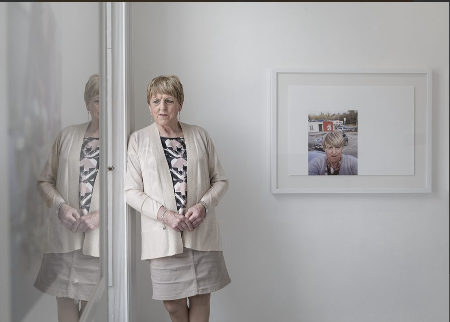 BIRTHDAY SHOW: Becoming Christine exhibition marks the 37th year of Belfast Exposed and follows the transition and journey of Christine Benyon over 12 years.