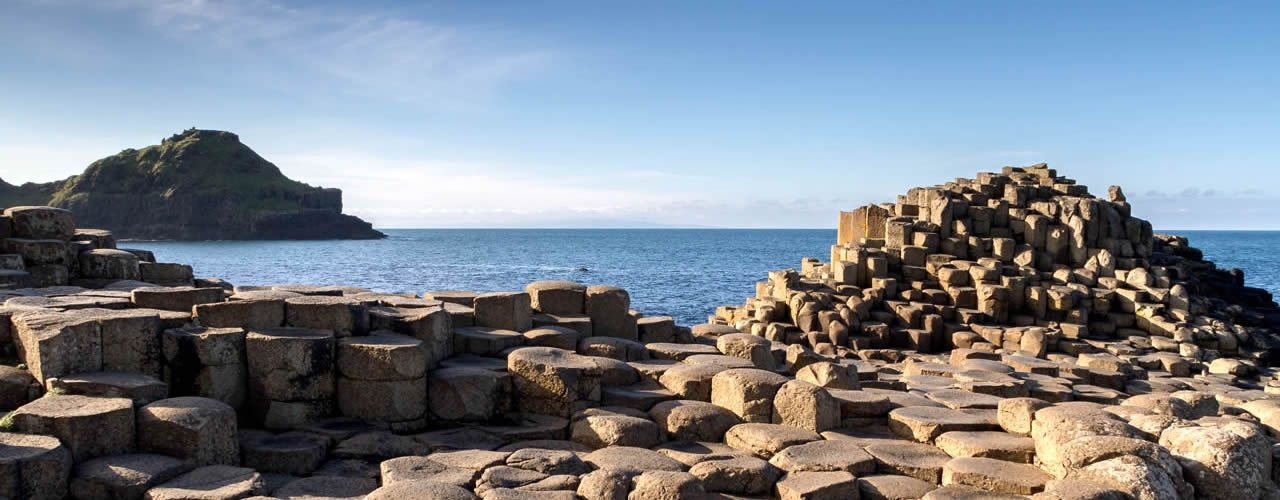 SOMETHING TO SHOUT ABOUT IT: Even a DUP flat-earther would have trouble claiming Giant\'s Causeway as a product of Partition