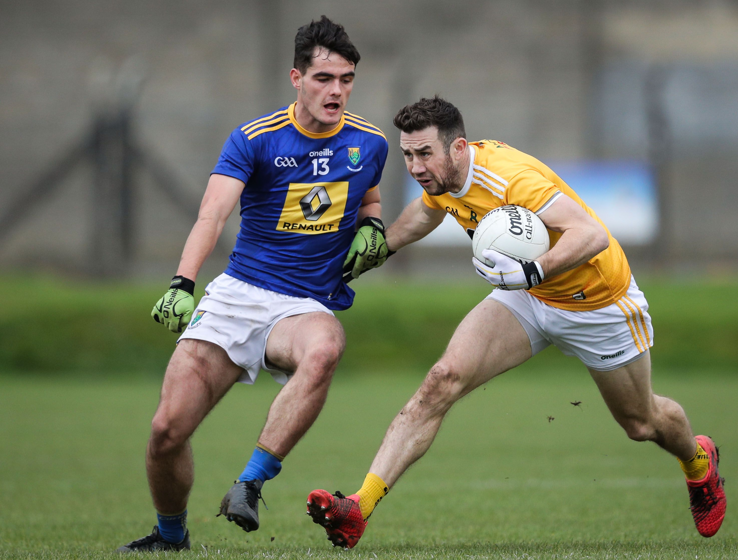 Antrim now sit on top of Division Four despite last week\'s heavy loss in Wicklow, but will drop out of the promotion places if results don\'t go their way on Saturday
