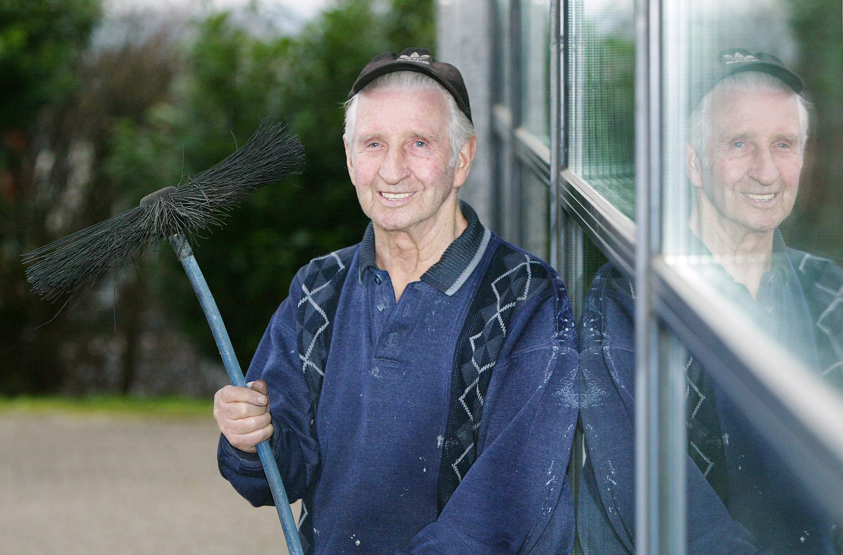 GAA, CREDIT UNION AND COMMUNITY LYNCHPIN: The late Séamus Johnston who was one of last chimney sweeps in Belfast