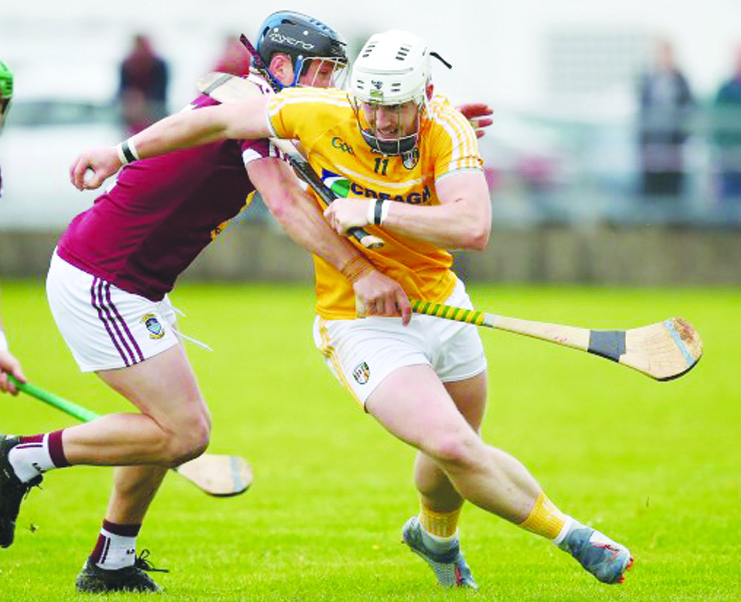 Antrim couldn't get past Westmeath in last year's McDonagh Cup game in Dunloy with the Garden County continuing their winning steak over the Saffrons