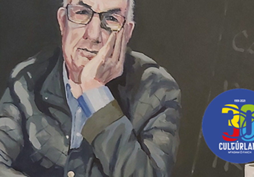 30 BLIAIN AG FÁS: Cultúrlann\'s 30th anniversary collection brings together artworks which usually hang in different places around the building - including this portrait of founder Séamus Mac Seán