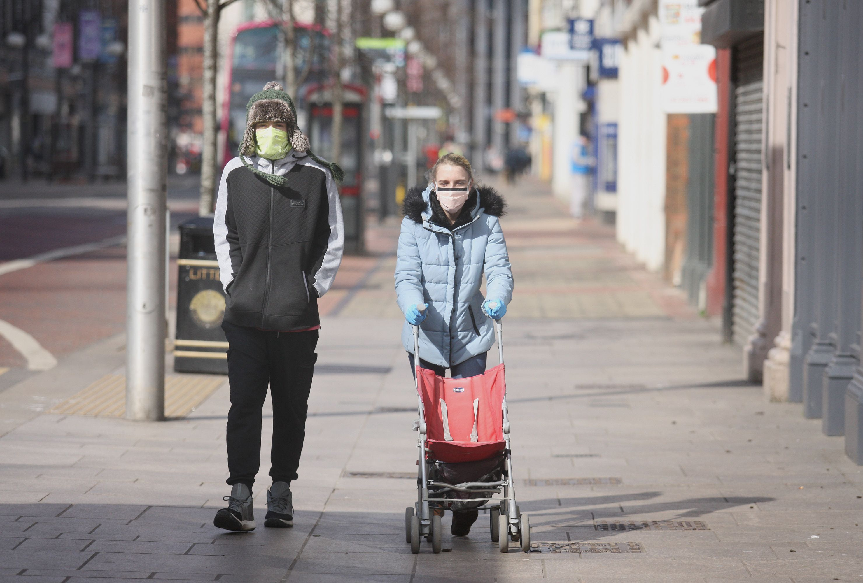 """NEW NORMAL: Belfast during the first lockdown – \""""people have found the second harder\"""""""