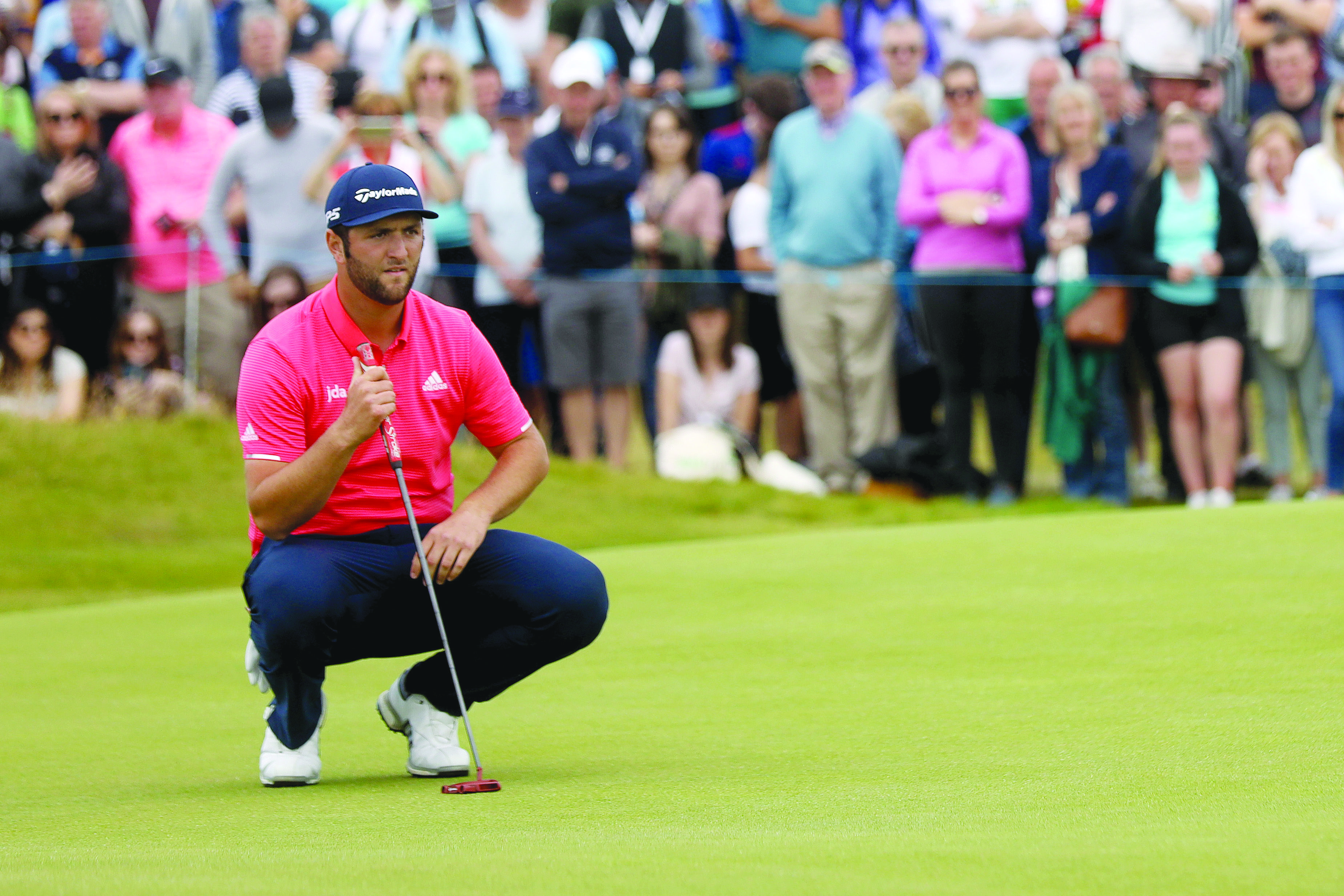 Big-hitting Spaniard Jon Rahm could be in line to break his Major duck at Augusta this week
