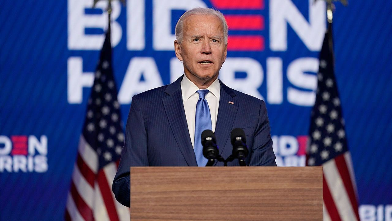 WHAT'S IN A NAME? A fit and healthy looking newly elected 46th President of the United States, Joseph Robinette Biden