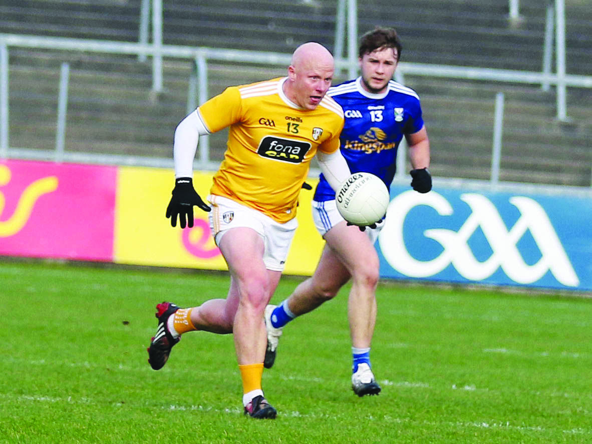 Paddy Cunningham in action against Cavan in the recent Ulster Championship clash