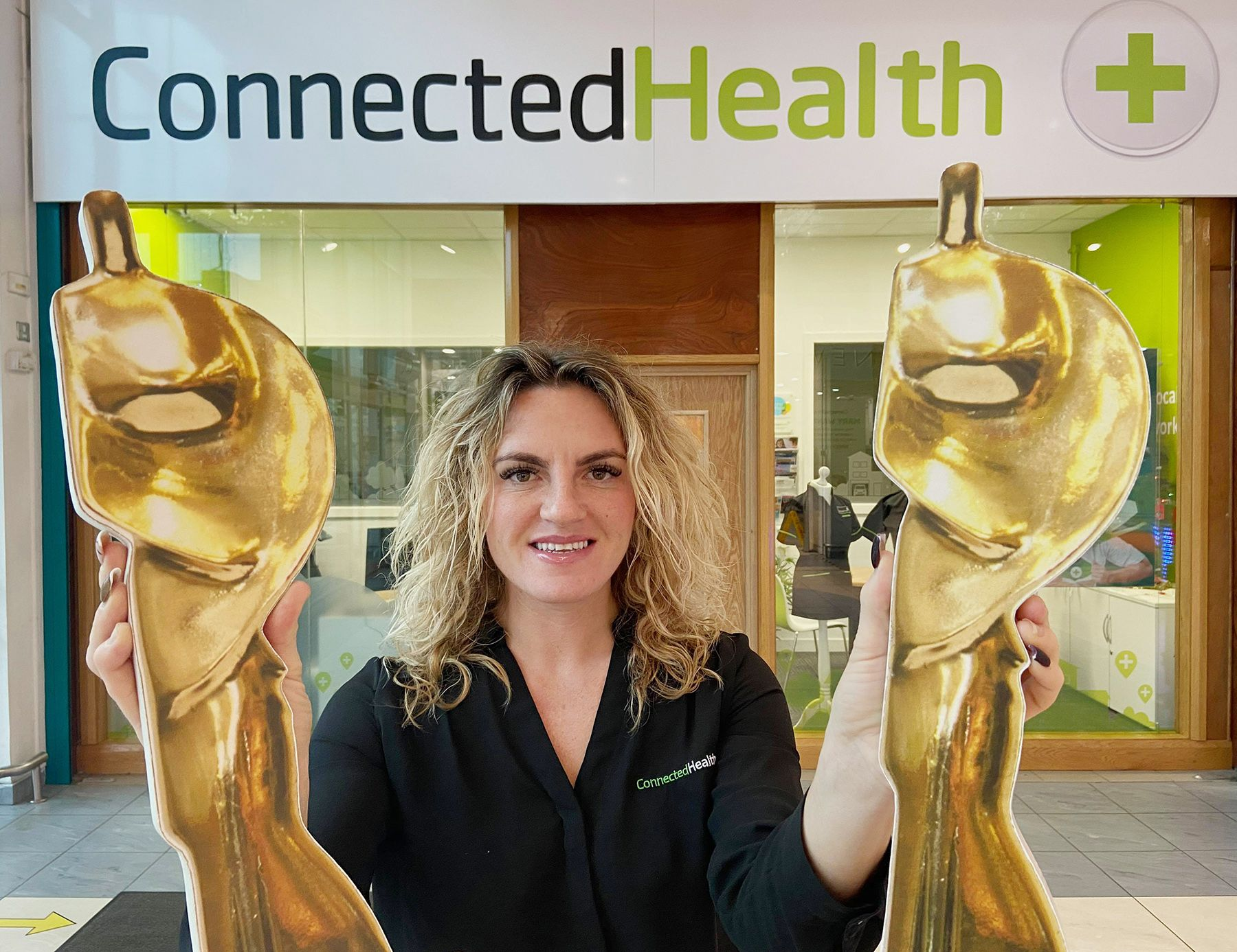 COMMUNITY ROLL CALL: Teresa Morrison of Connected Health, sponsors of the Community Covid Hero Aisling Award, salutes this year\'s shortlisted nominees