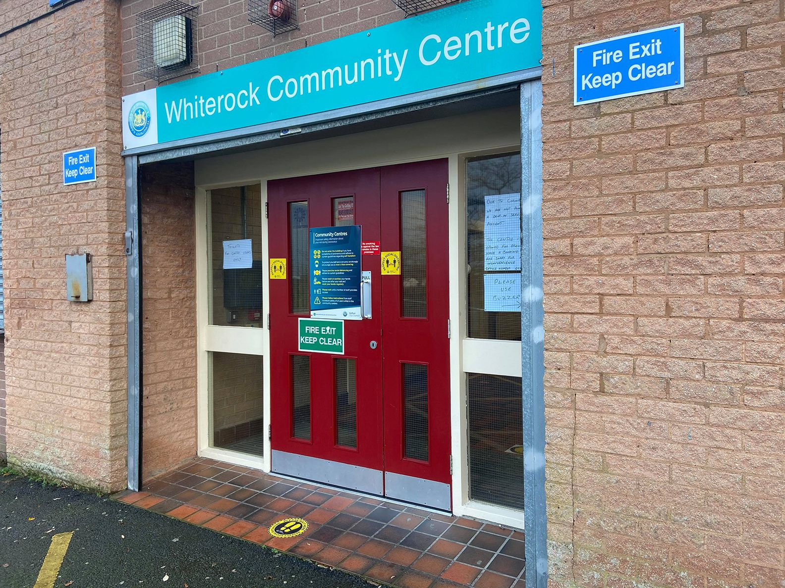 PREFERRED VENUE: Whiterock Community Day Services, based in Whiterock Community Centre, has been closed since March