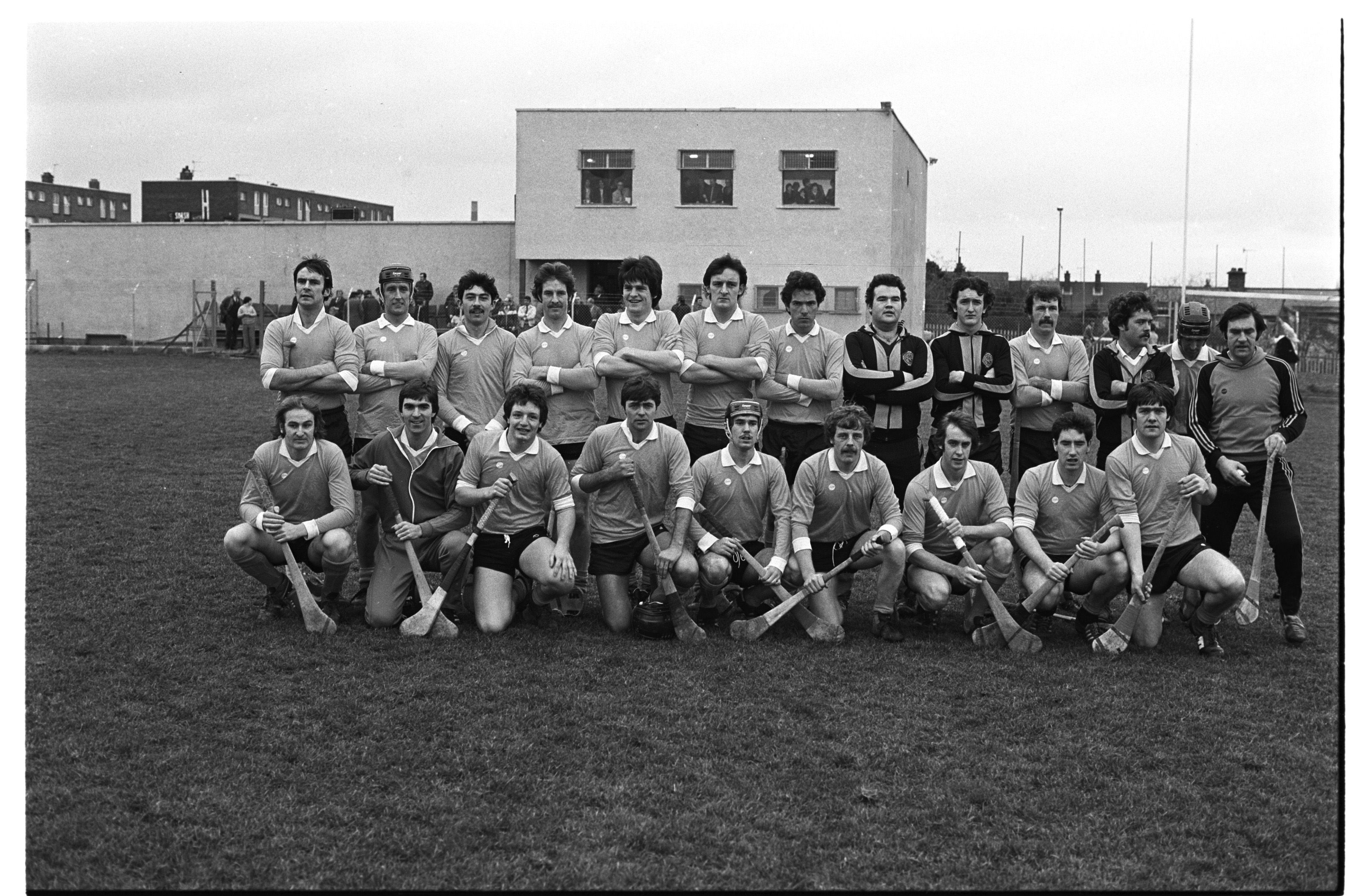 SAFFRONS: Kilkenny beat this Antrim team at the opening of O'Donovan Rossa's new complex and pitch at Shaws Road