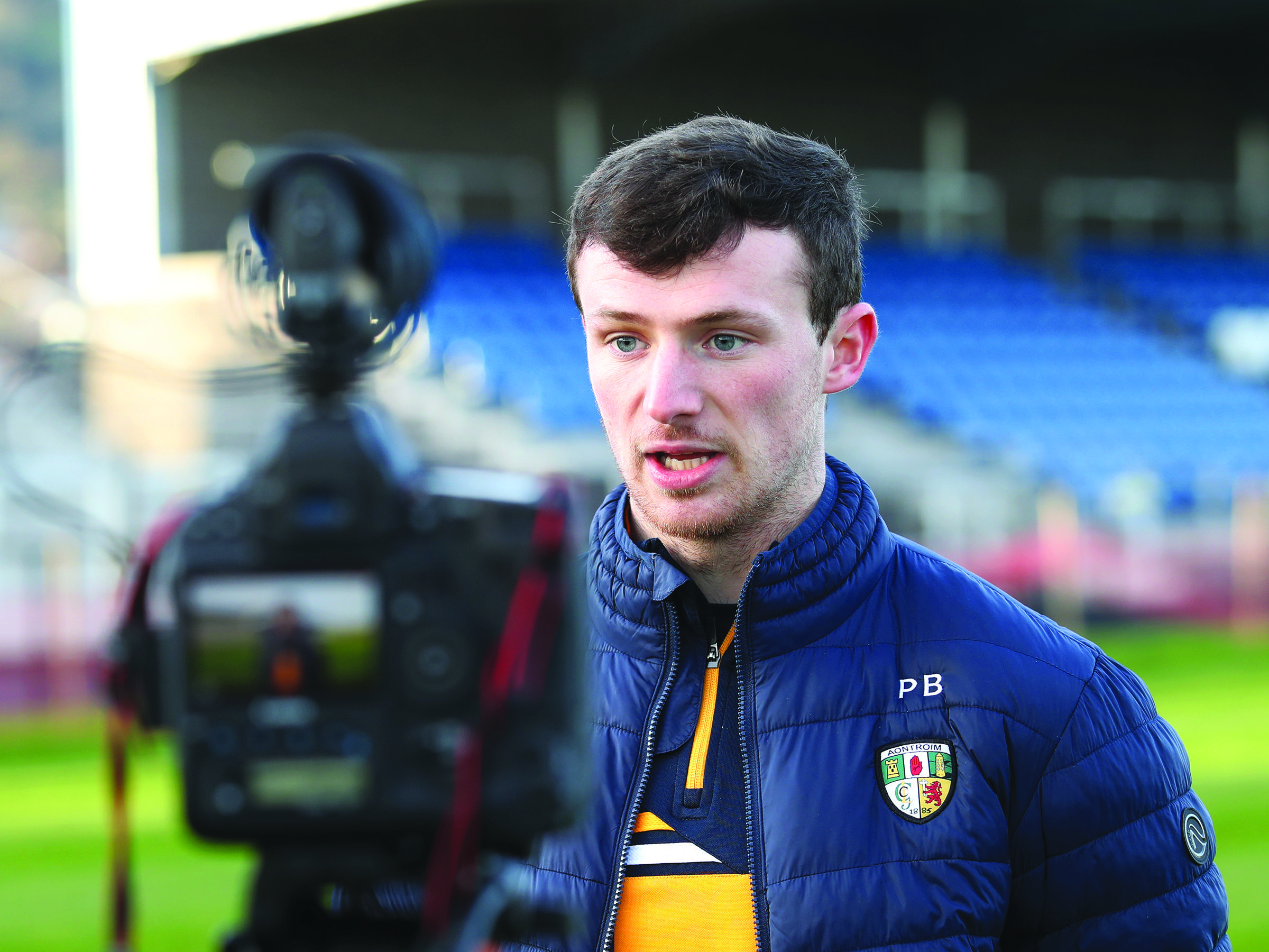 Paddy Burke has been in excellent form this year and he believes it's the strength of Antrim's panel that has ensured all players have been keen to perform to hold onto their starting positions