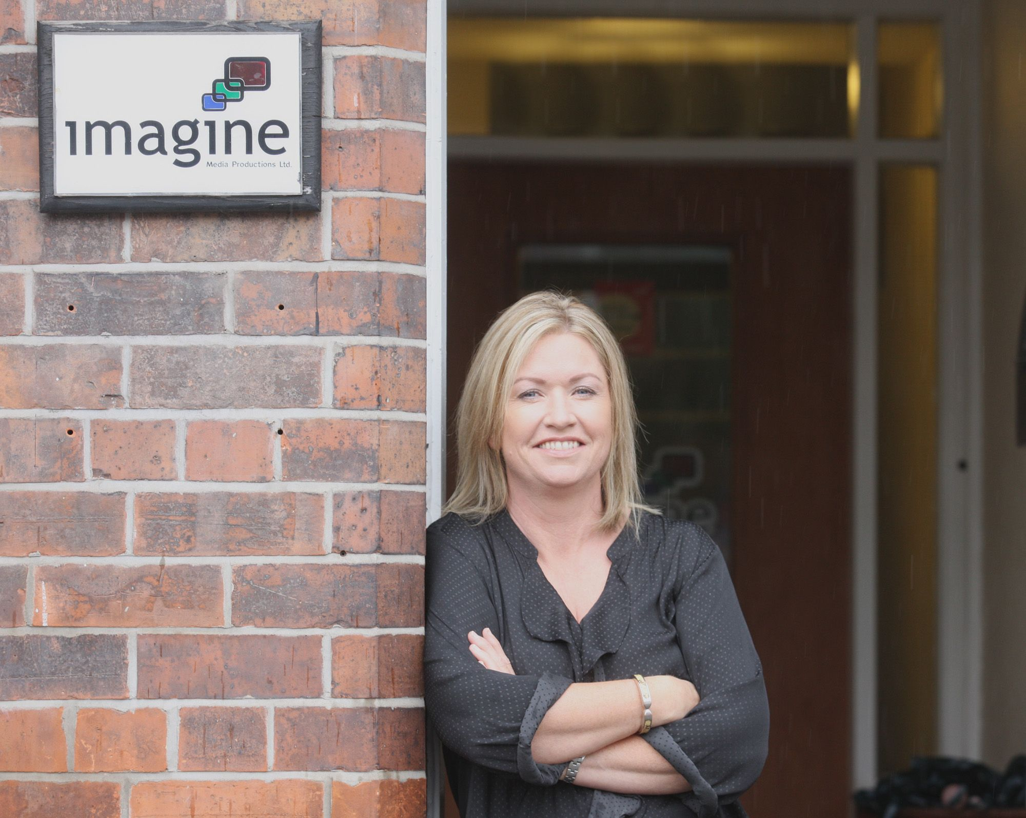 GREAT NEWS: Sheila Friel from independent TV company Imagine Media