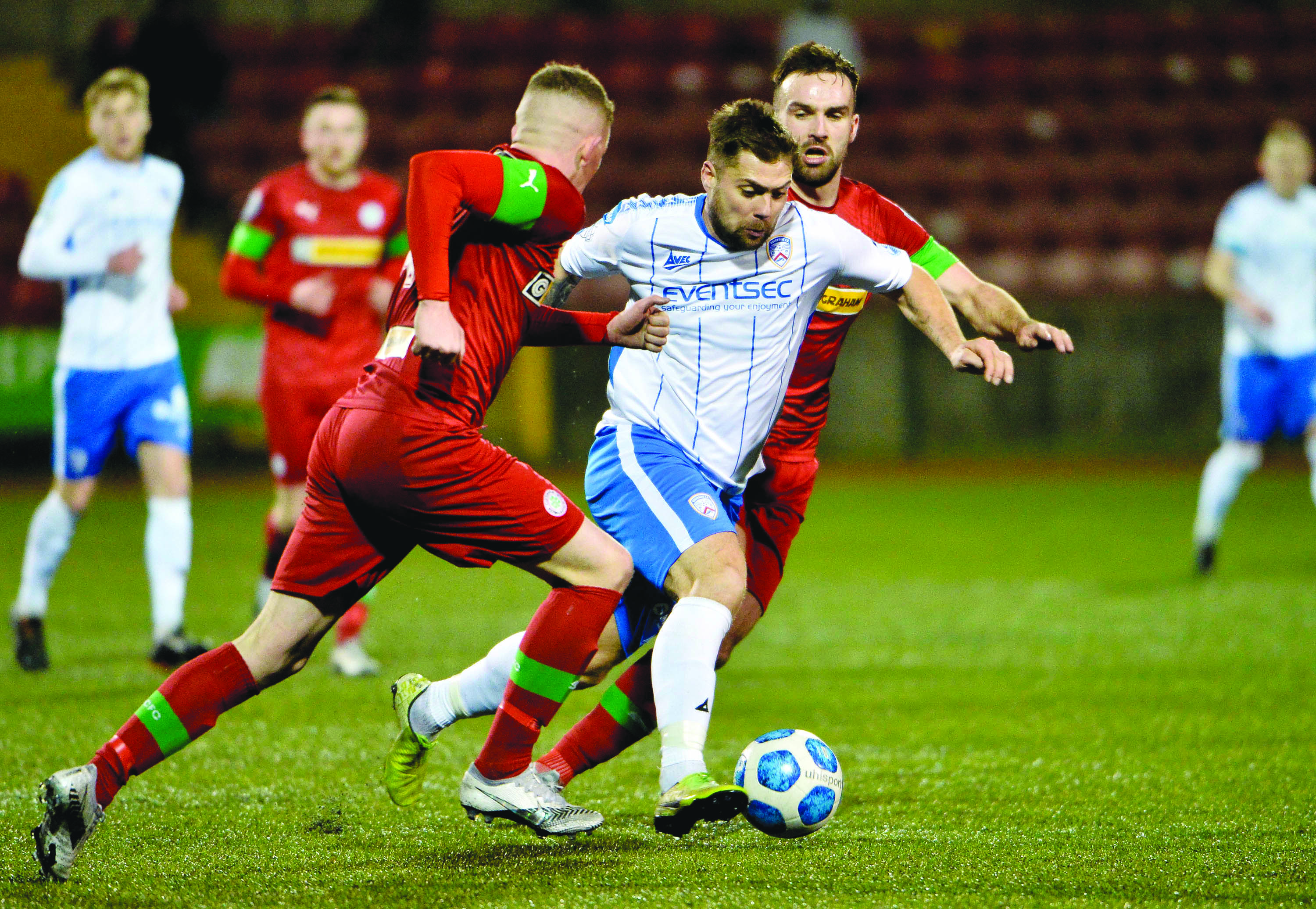 Cliftonville manager Paddy McLaughlin was left disappointed as his team fell to their sixth league defeat of the season on Saturday against Coleraine