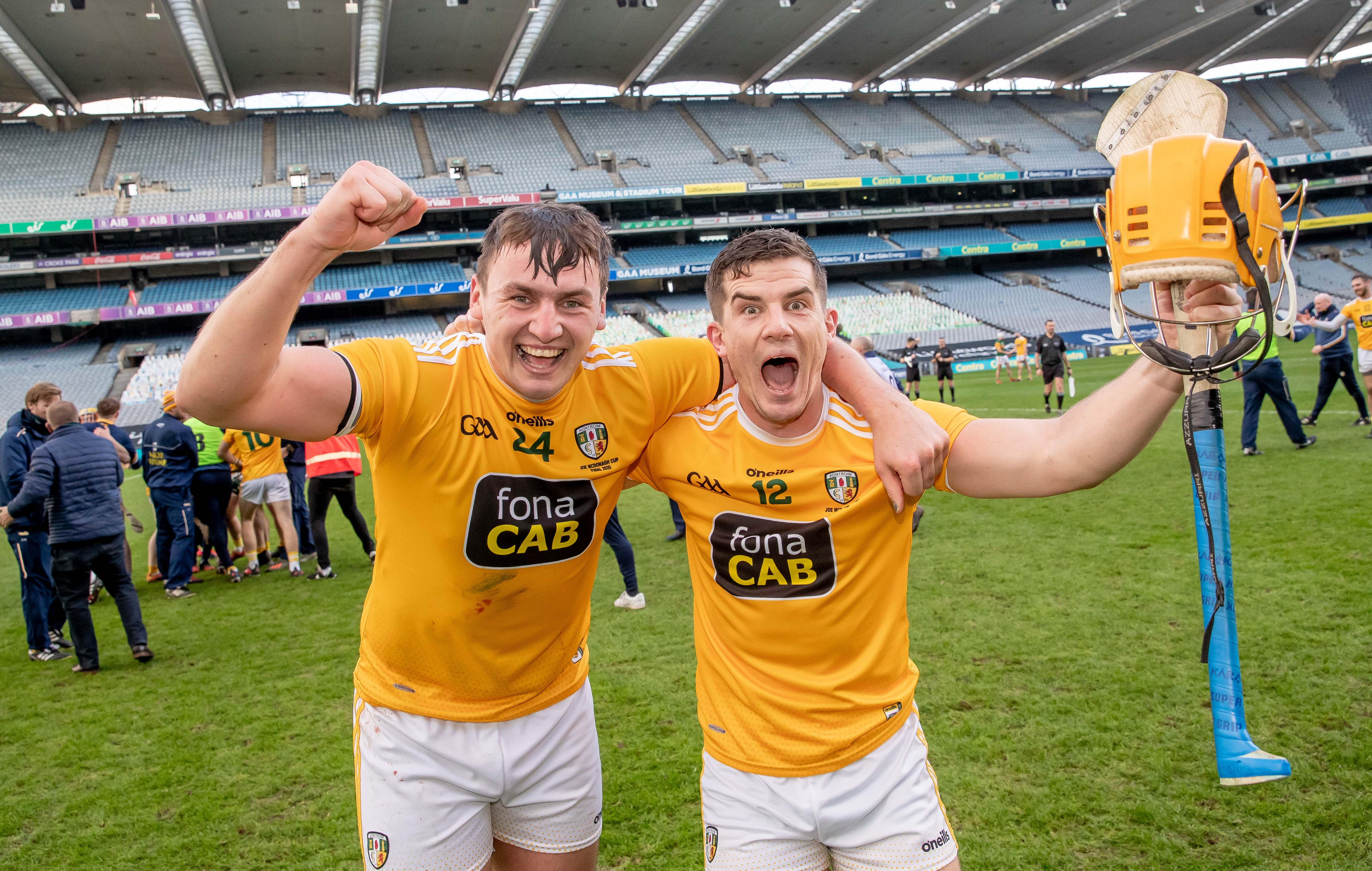 Antrim's hurlers can look forward to Division One hurling in 2021