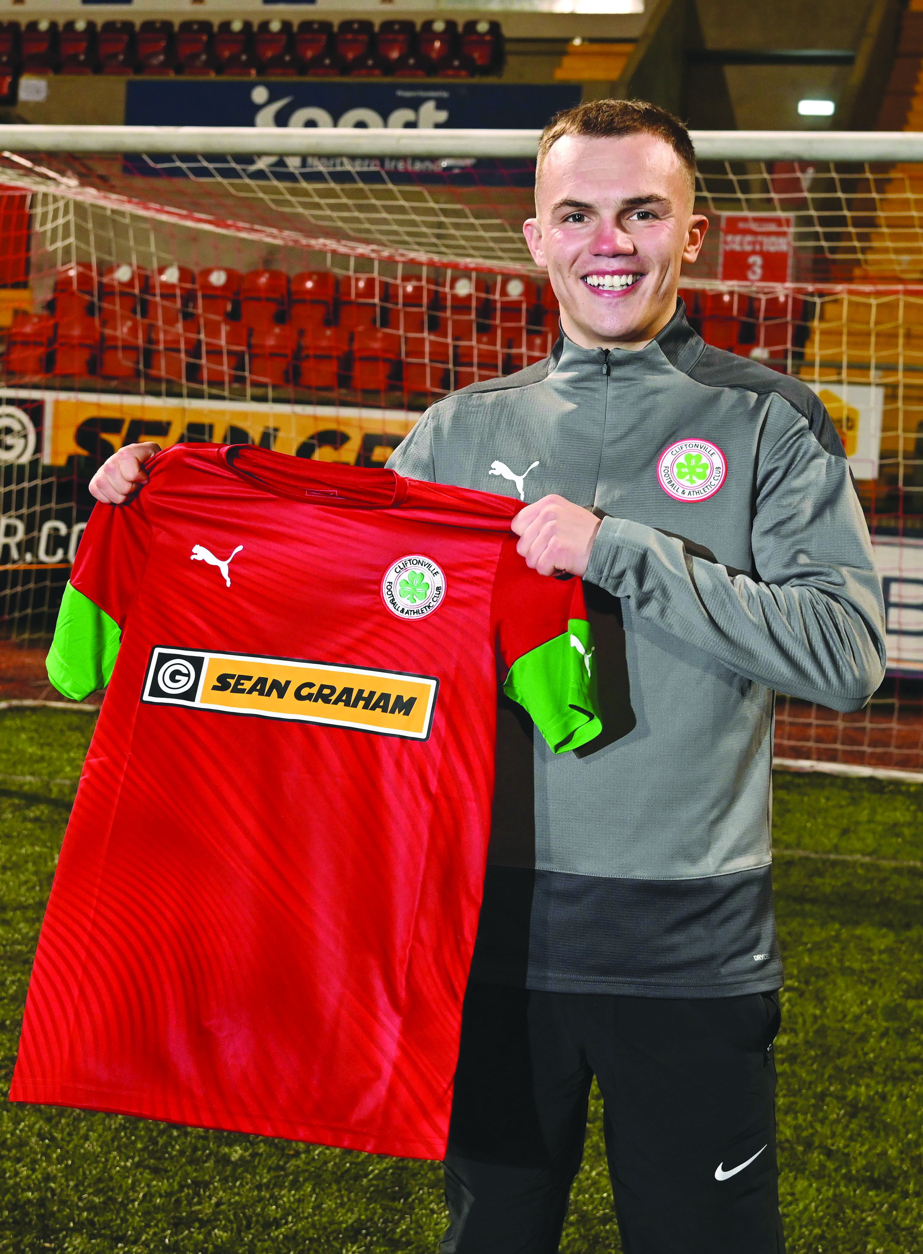 Rory Hale is one of two recent signings for Cliftonville that manager Paddy McLaughlin is delighted to have got over the line