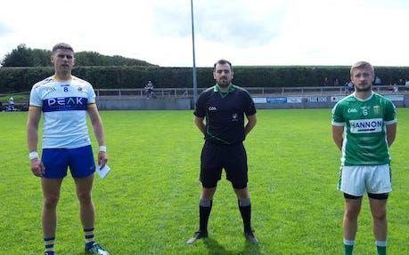 Jack Dowling, Conal Roberts and Pat Branagan before the game