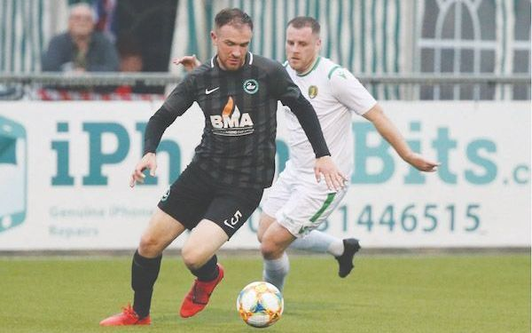 Newington manager Conor Crossan was delighted with his side's performance in Friday's semi-final win over Belfast Celtic