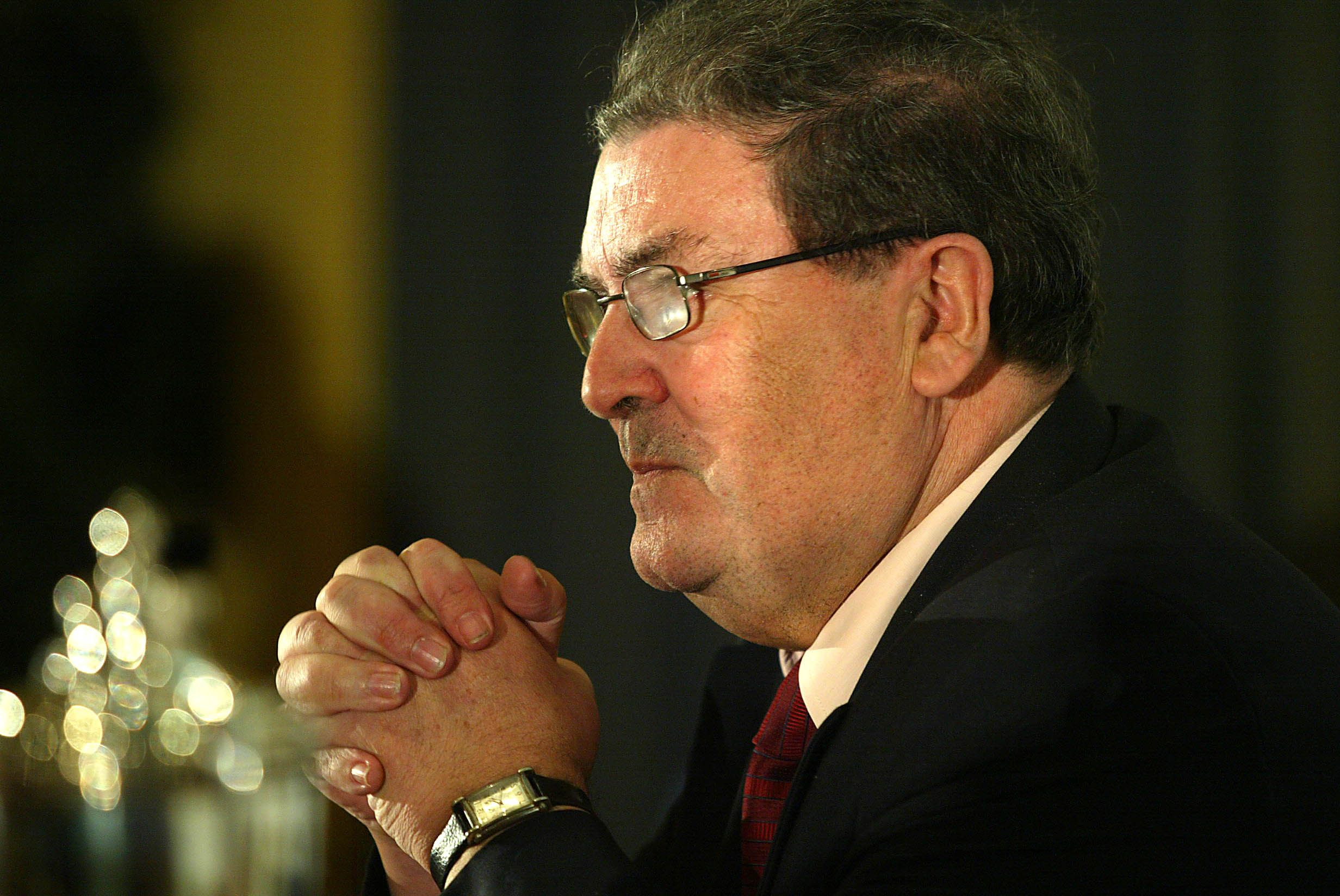 "REST IN PEACE: John Hume praised for ""illustrious frontline involvement in brokering peace\""."