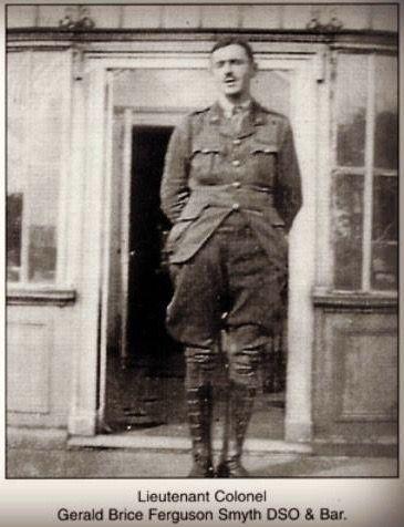 ASSASSINATED: Lieutenant Colonel Gerald Brice Ferguson Smyth