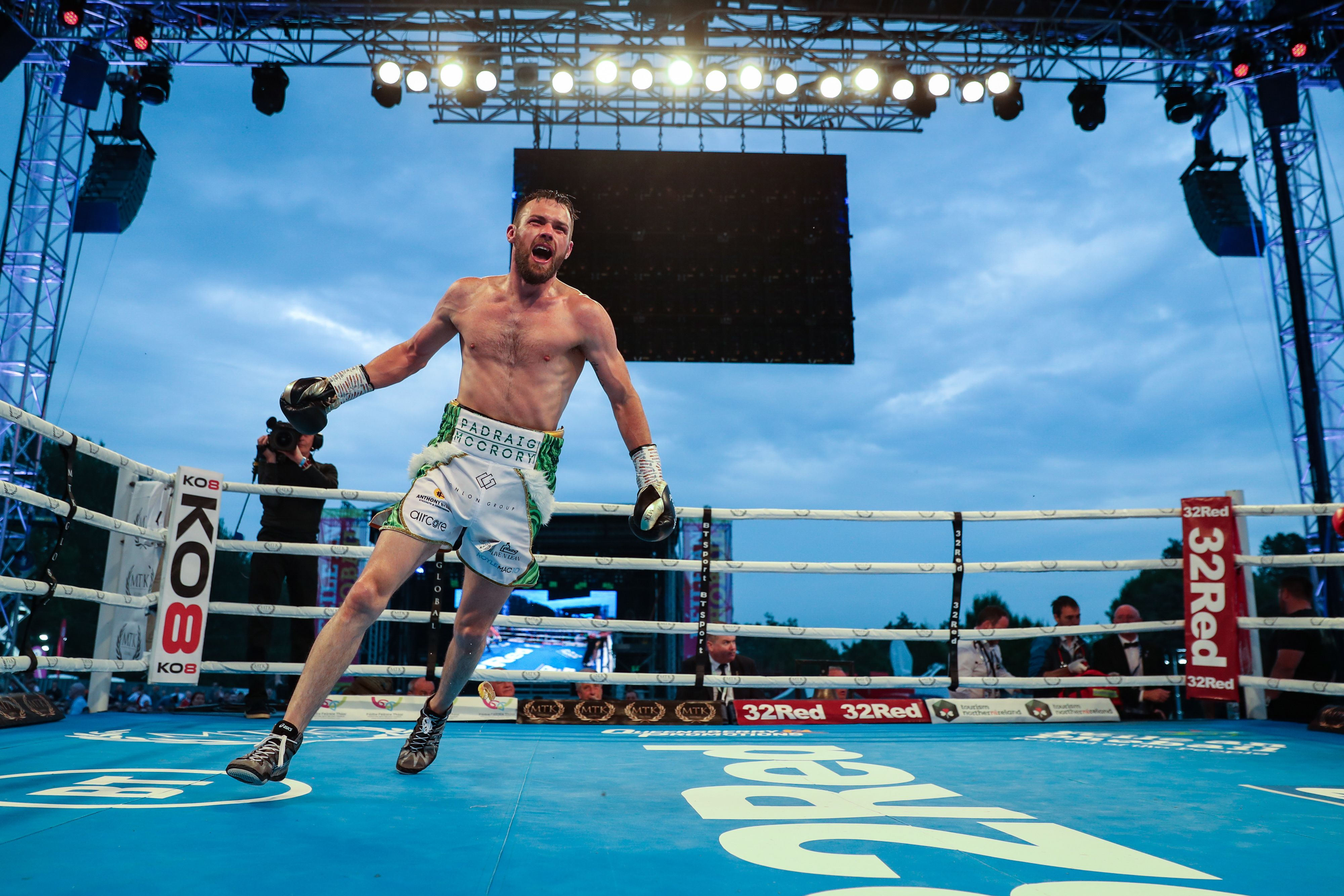 Padraig McCrory believes he will be celebrating victory over Mickey Ellison on Wednesday