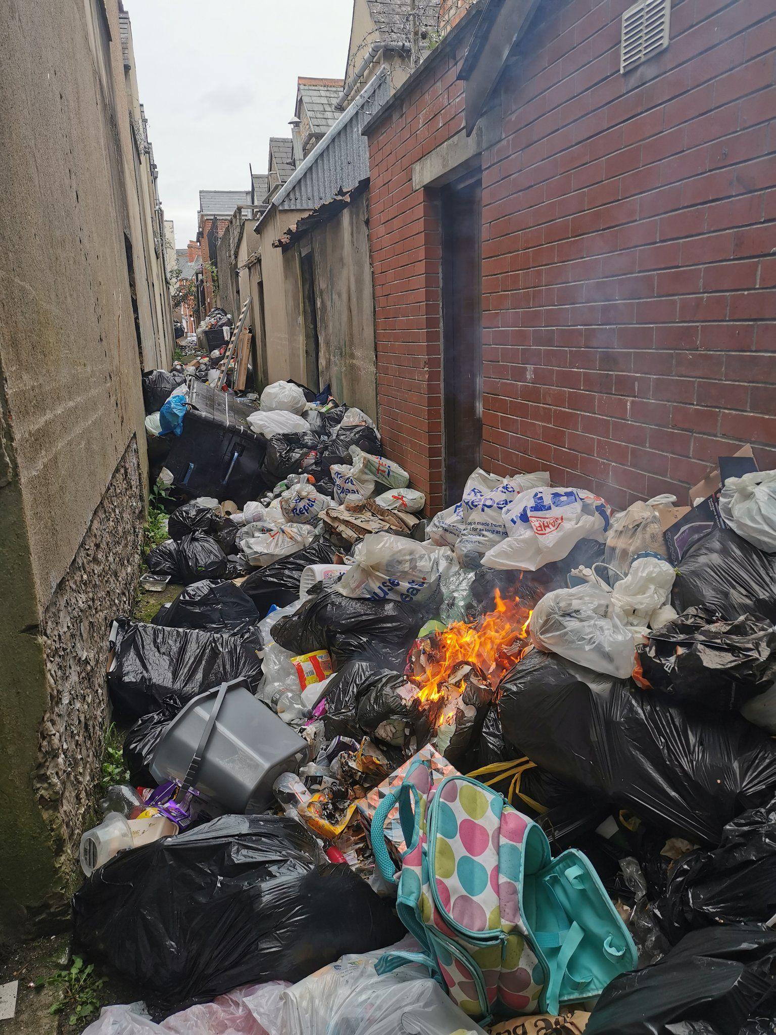Holyland dumping
