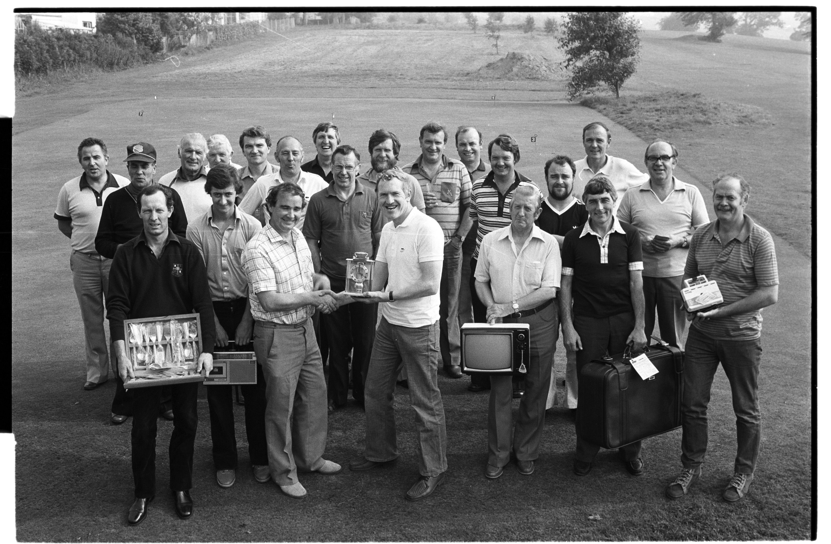 Holy cross golf outing in armagh