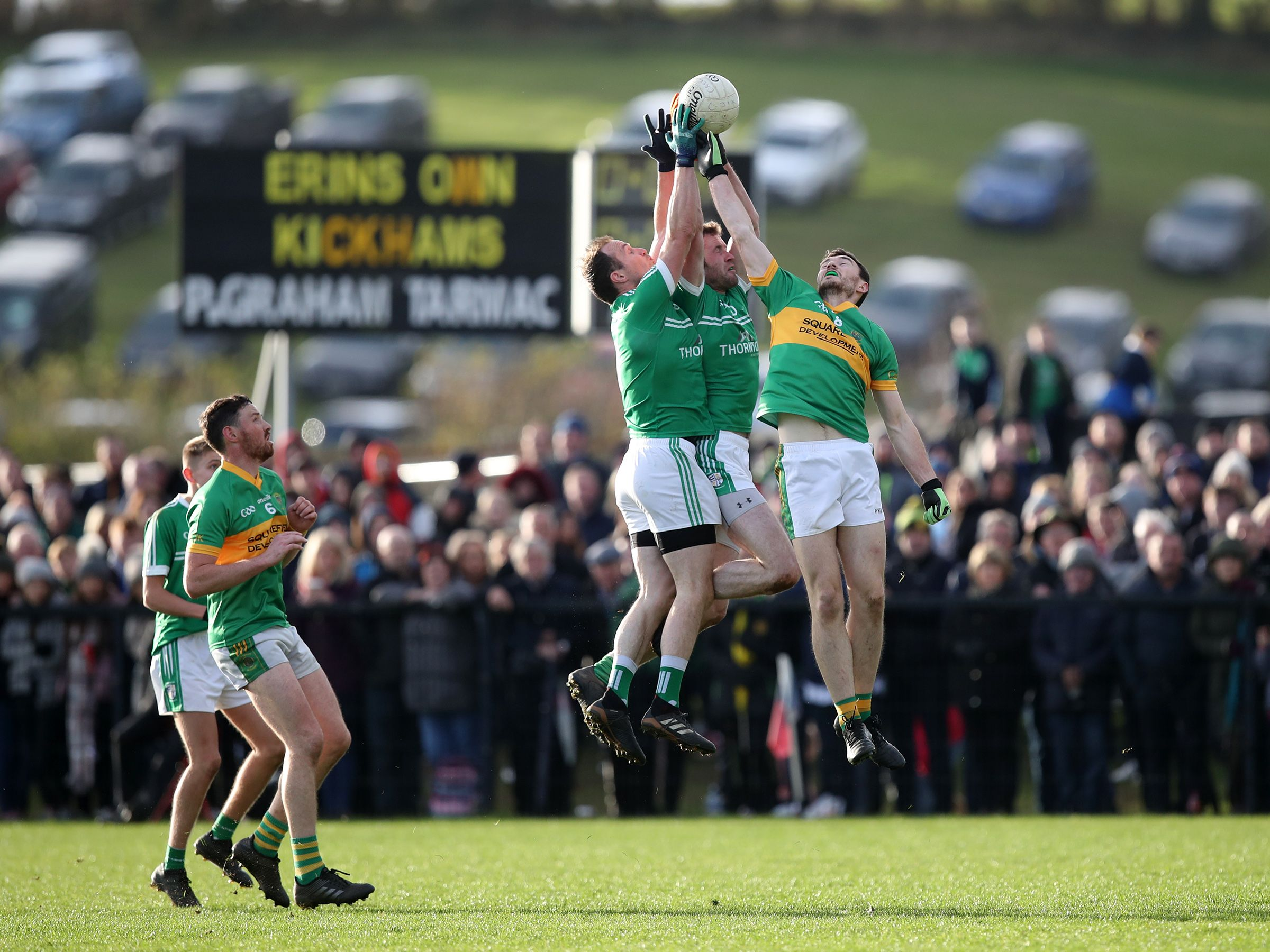 Cargin overcame Creggan in a poor 2018 decider and the neighbours will meet again in Sunday\'s final in Portglenone