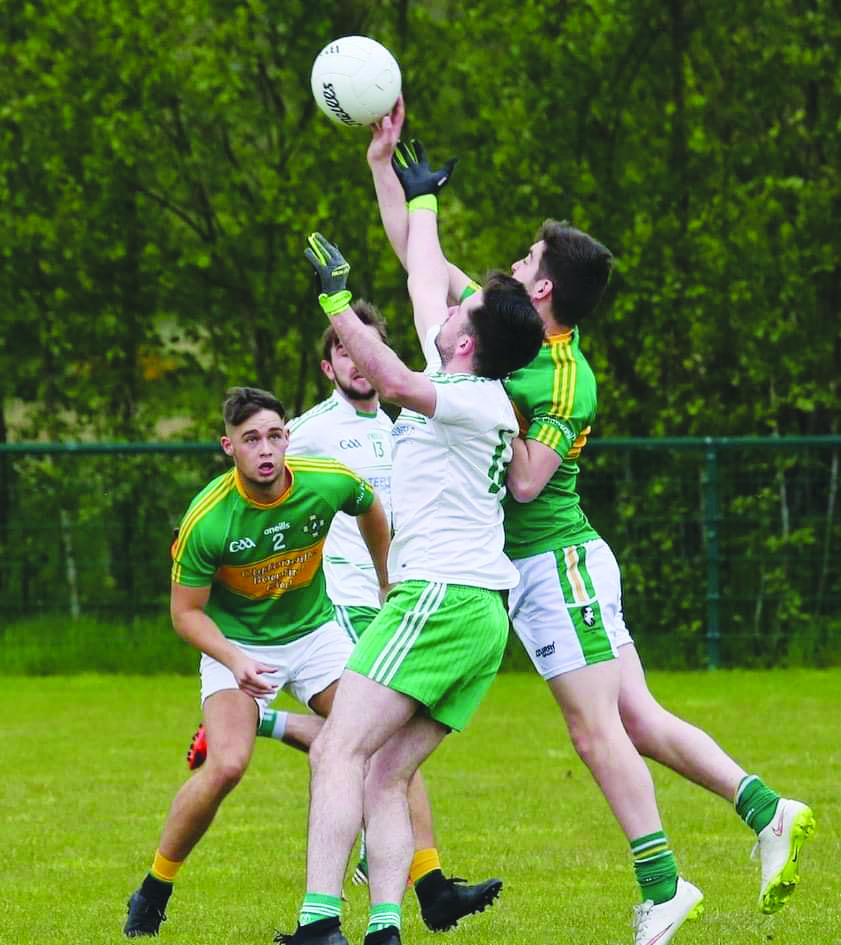 Pearse's manager Conor Henry predicts another close game when they face St Comgall's on Saturday