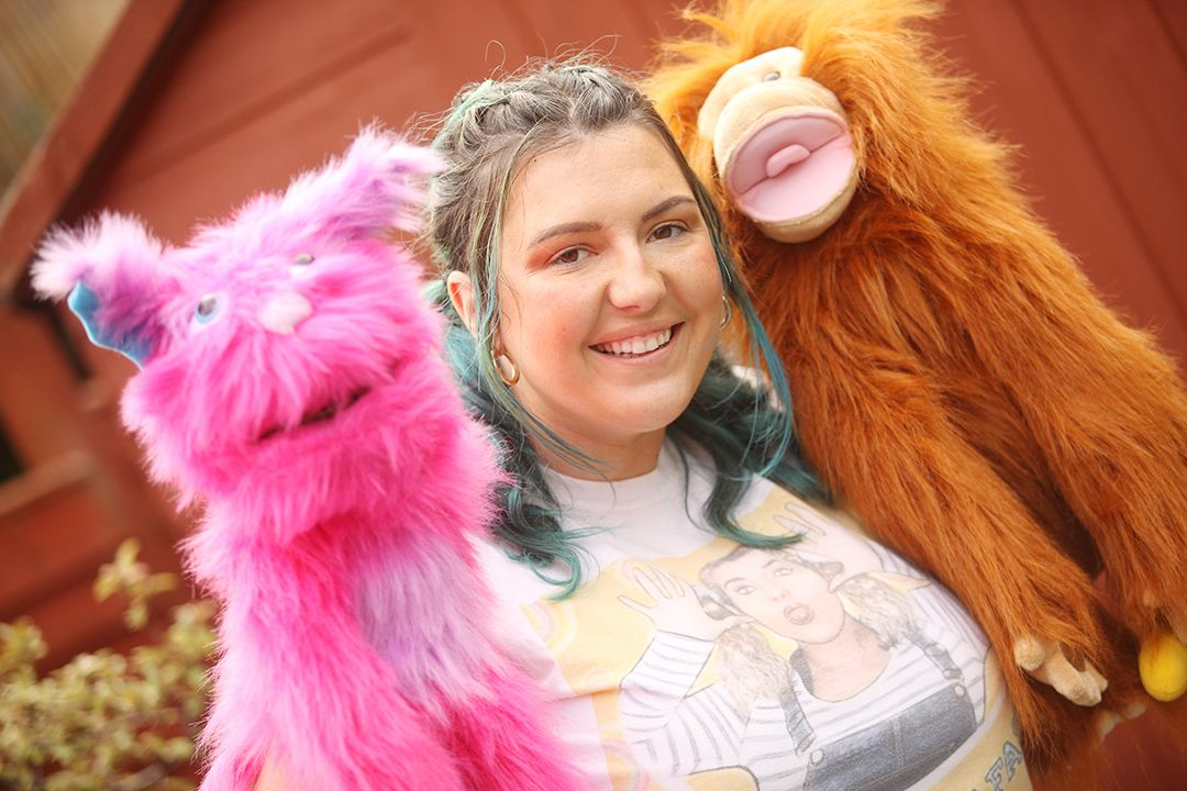 ACTING UP: Caitlin's drama school caters for all children
