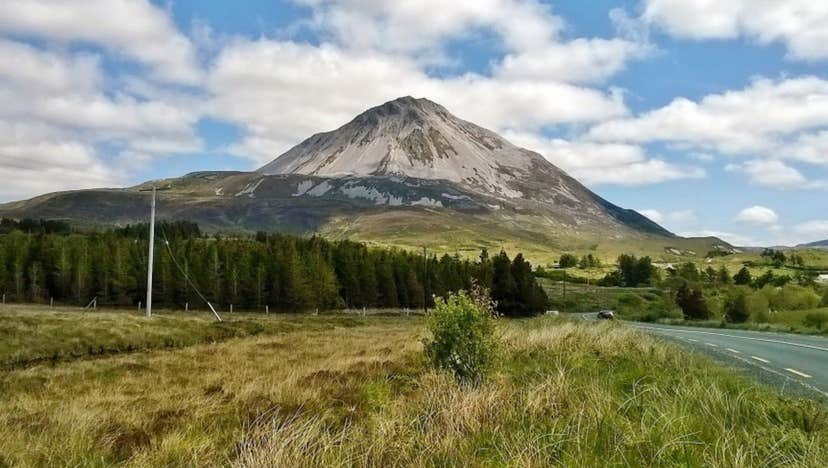 CLIMB EVERY MOUNTAIN: Gerry Adams is set to take on Errigal again in the New Year