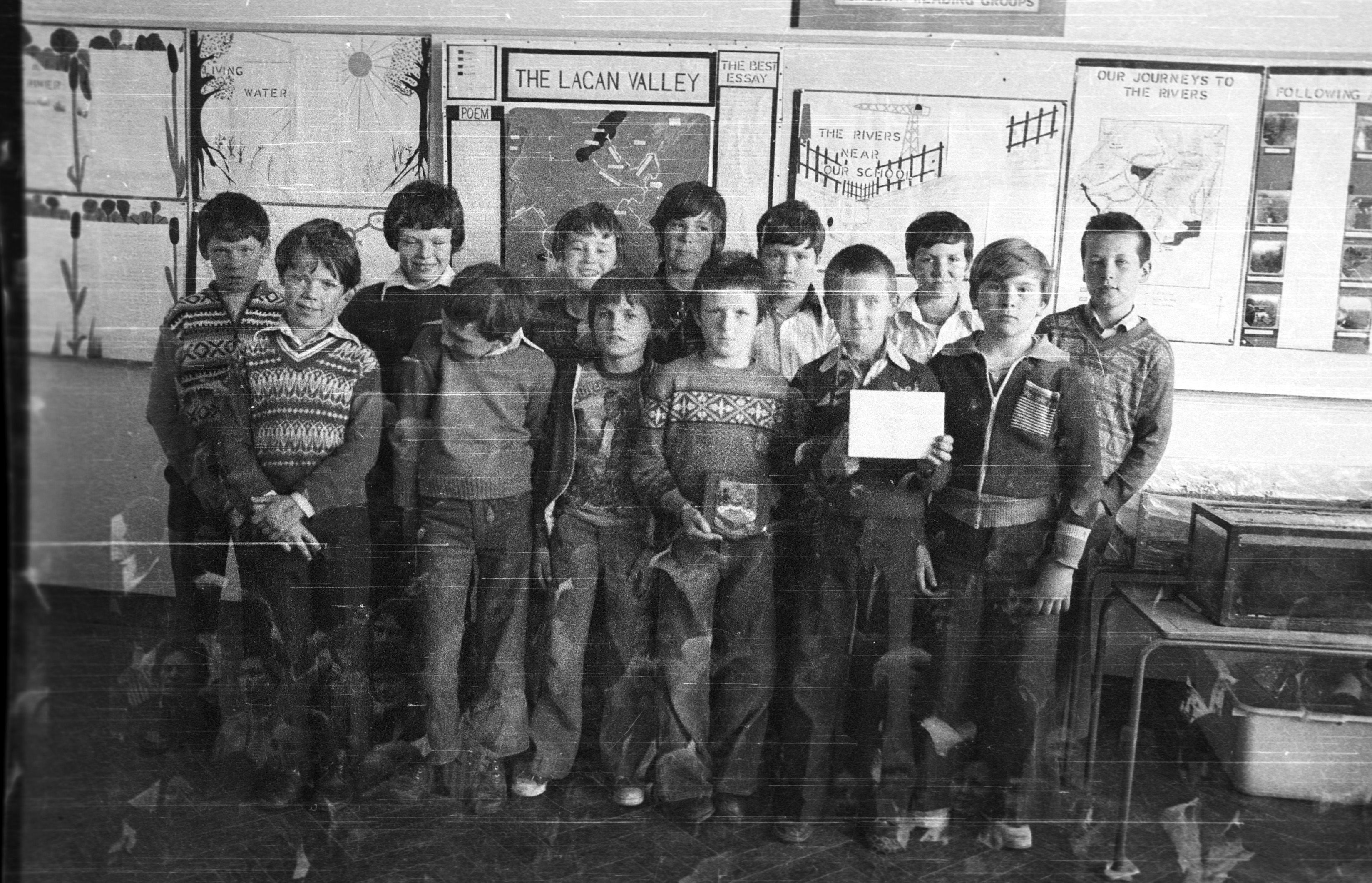 SCHOOL DAYS: S Kevin\'s Primary back in 1979