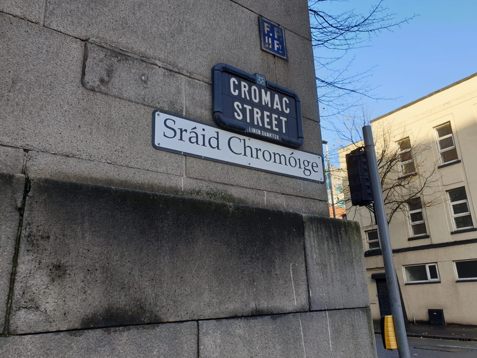 CHANGE: Council has backed a new bilingual street sign policy