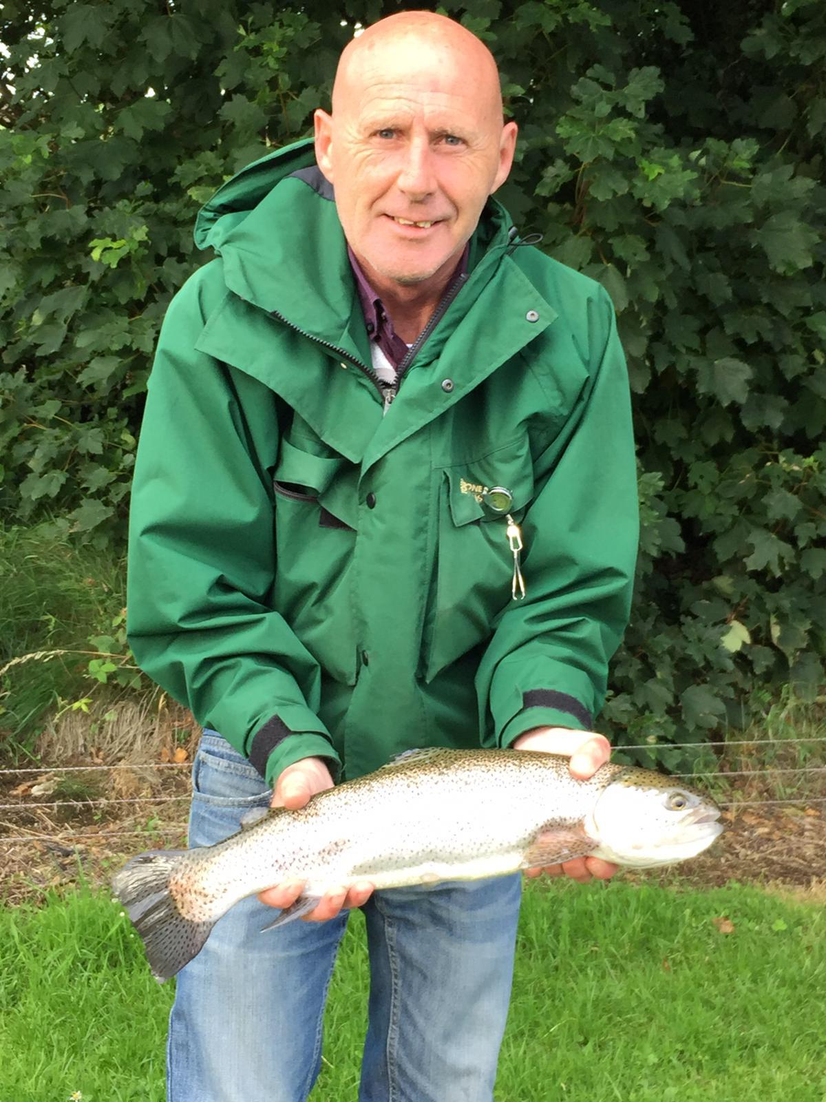 FISHERMAN: Gerard O'Halloran had a passion for the outdoor life