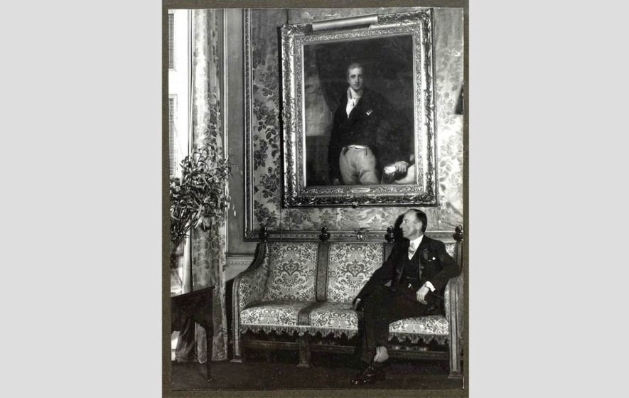 HANDS FULL: The Marquess of Londonderry (PRONI)