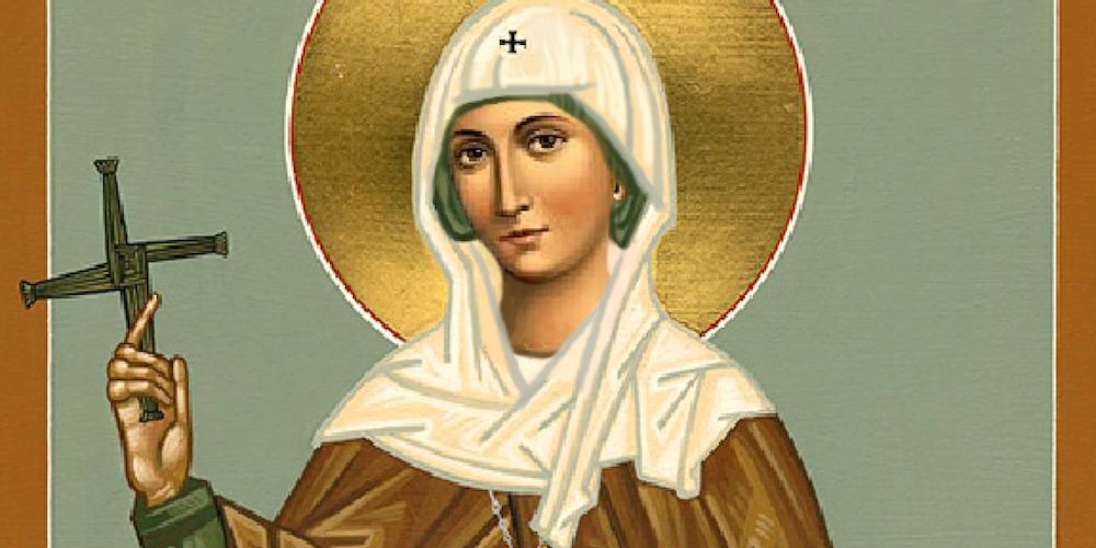 PEACEMAKER: St Bridget