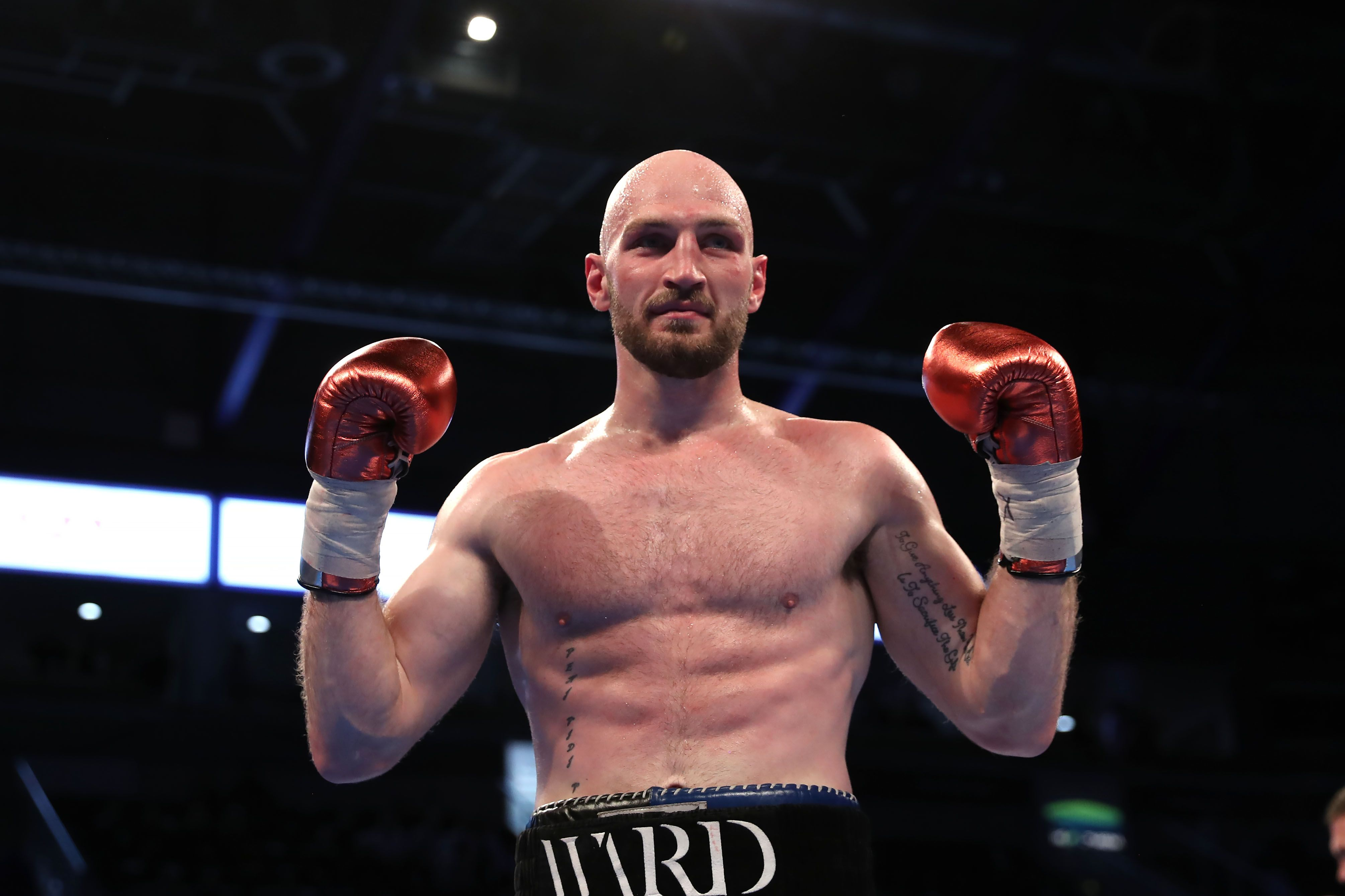 Steven Ward will face the former World amateur silver medalist in Almaty on February 27