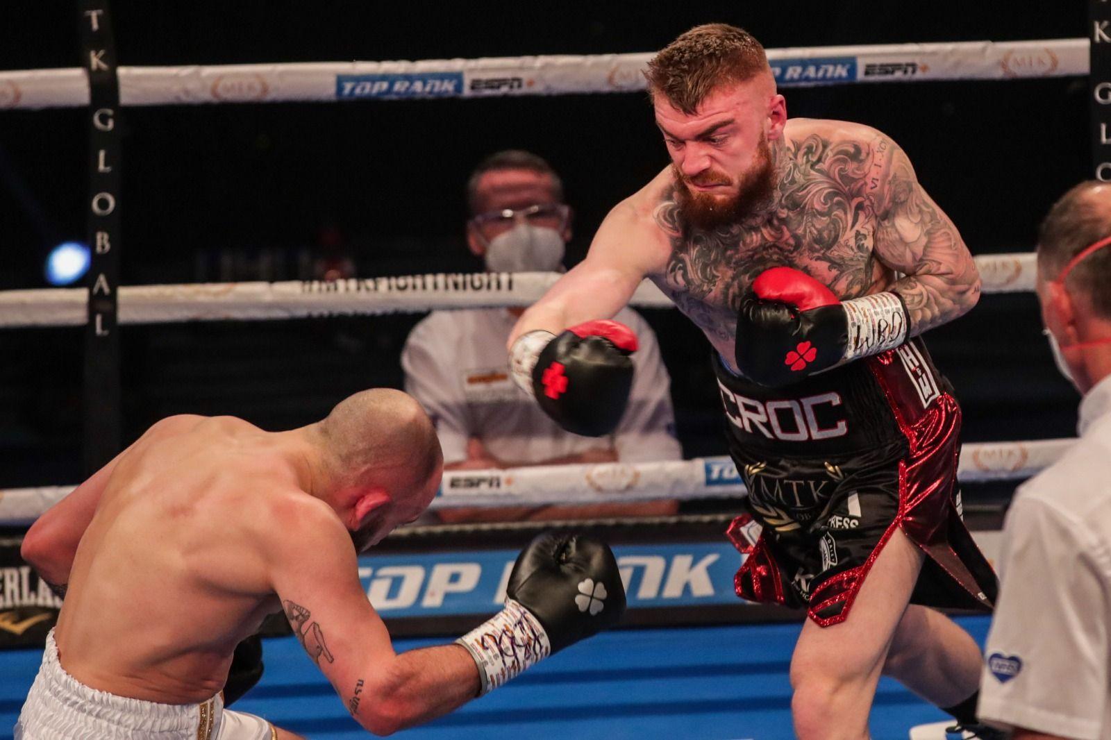 Lewis Crocker won a thrilling contest against Deniz Ilbay back in March