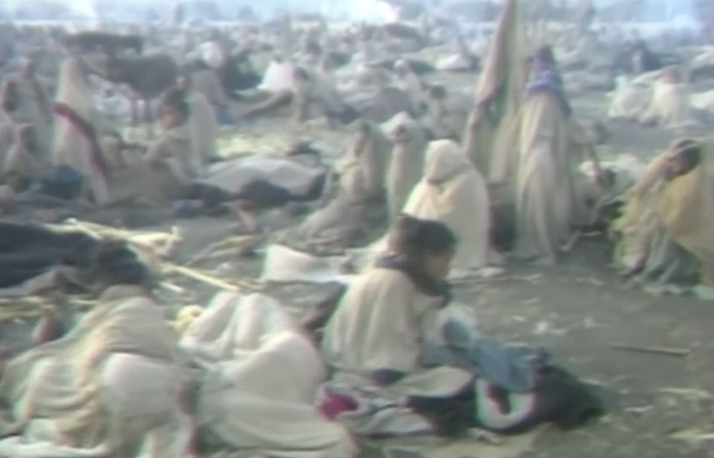 DISASTER: Close-up television coverage of the mid-80s famine in Ethiopia shocked the world