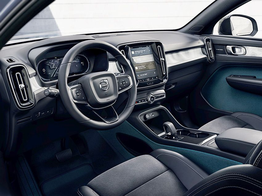 SUSTAINABLE STRATEGY: Volvo are easing leather out of their vehicle interiors in an attempt to offset the huge damage being done the to the environment by intensive cattle farming