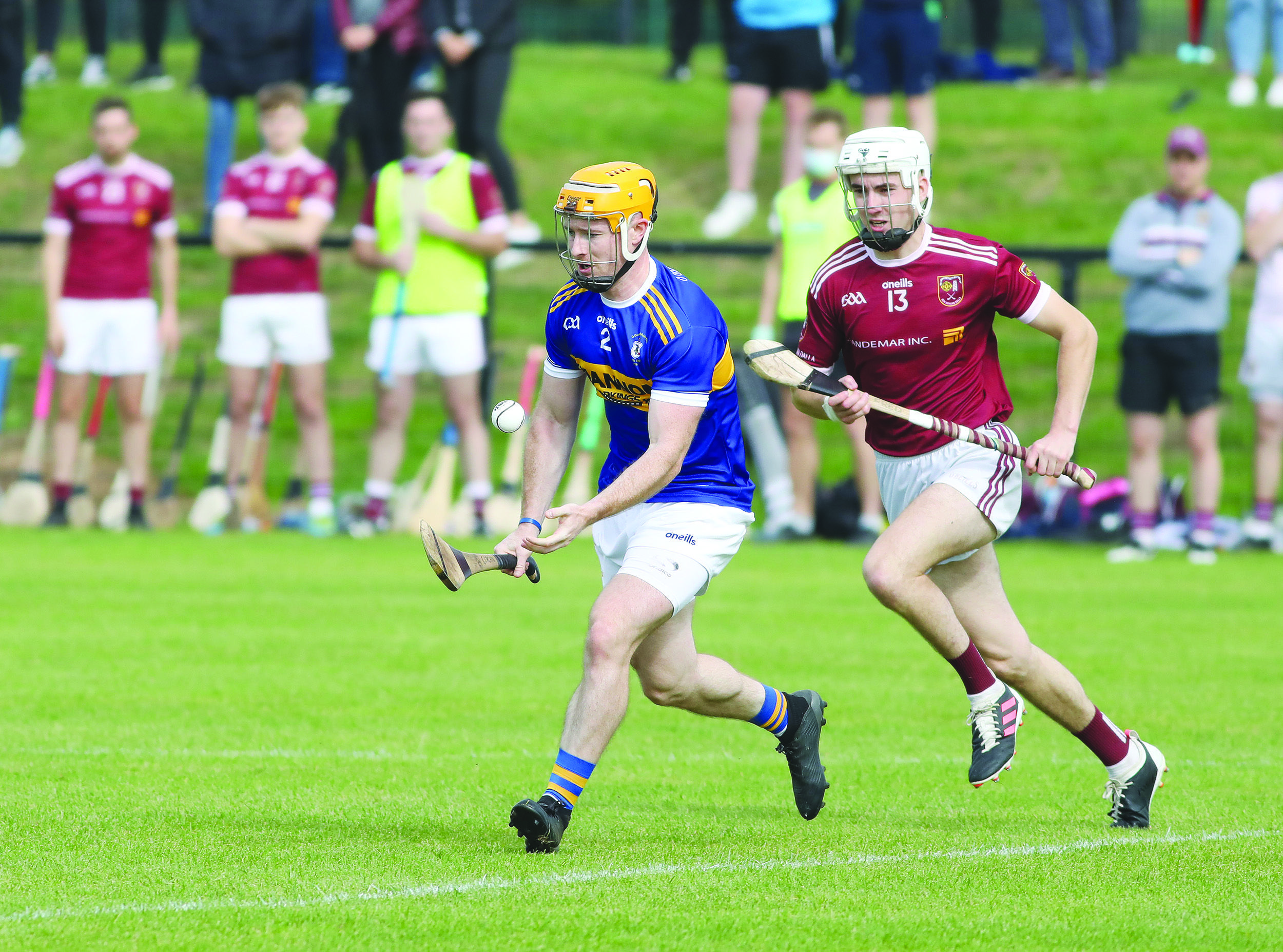 Rossa corrner back Ciaran Orchin turns 29 on Friday, but his only forcus is Sunday's Antrim Senior Hurling Championship final against Dunloy