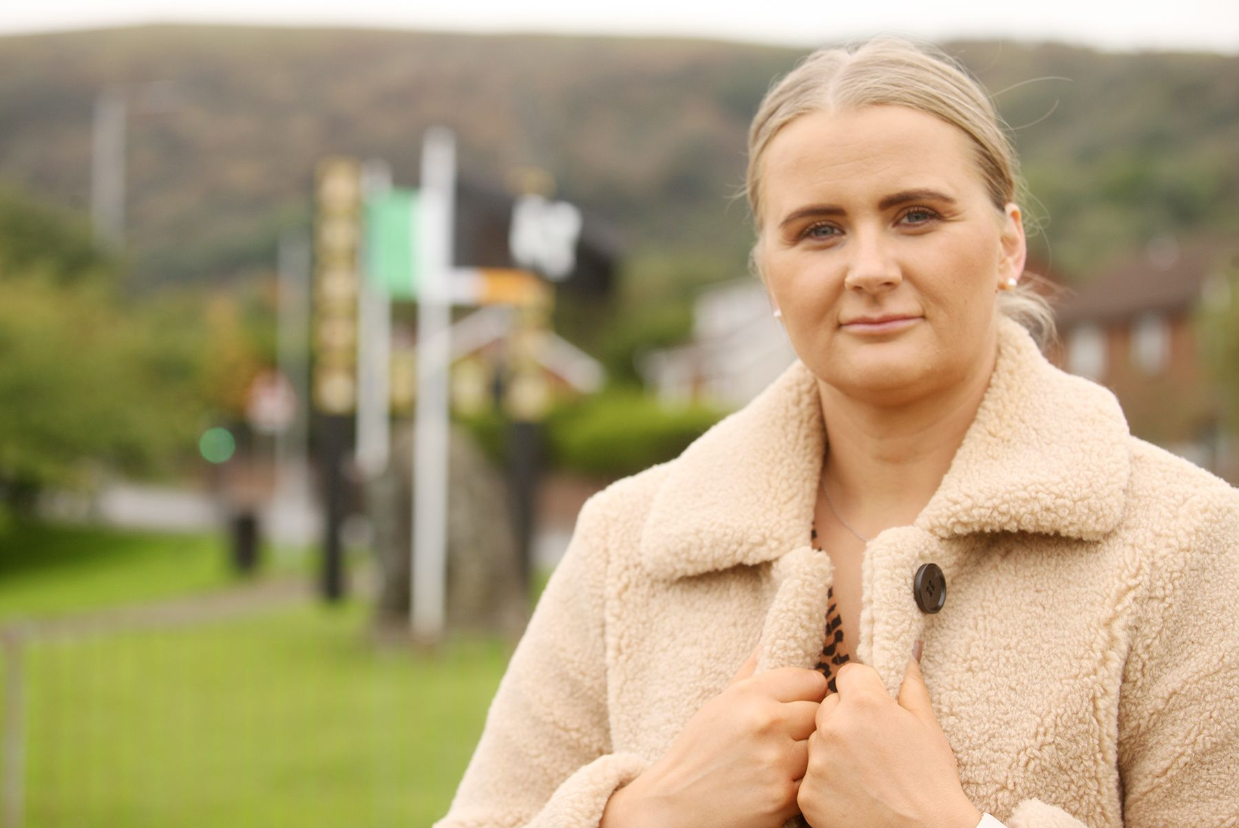 SELECTED: Aisling Reilly will replace Fra McCann when he steps down as MLA